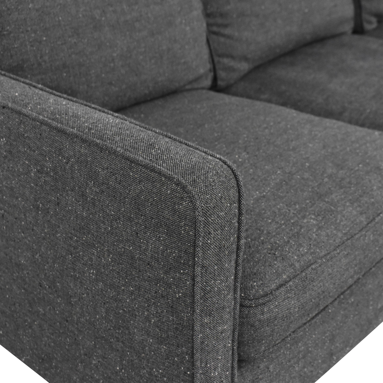 West Elm West Elm Hamilton Sectional Sofa dimensions