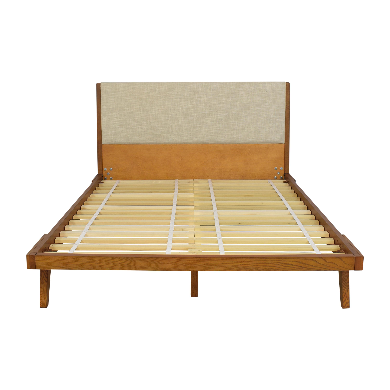 West Elm Modern Show Queen Bed sale