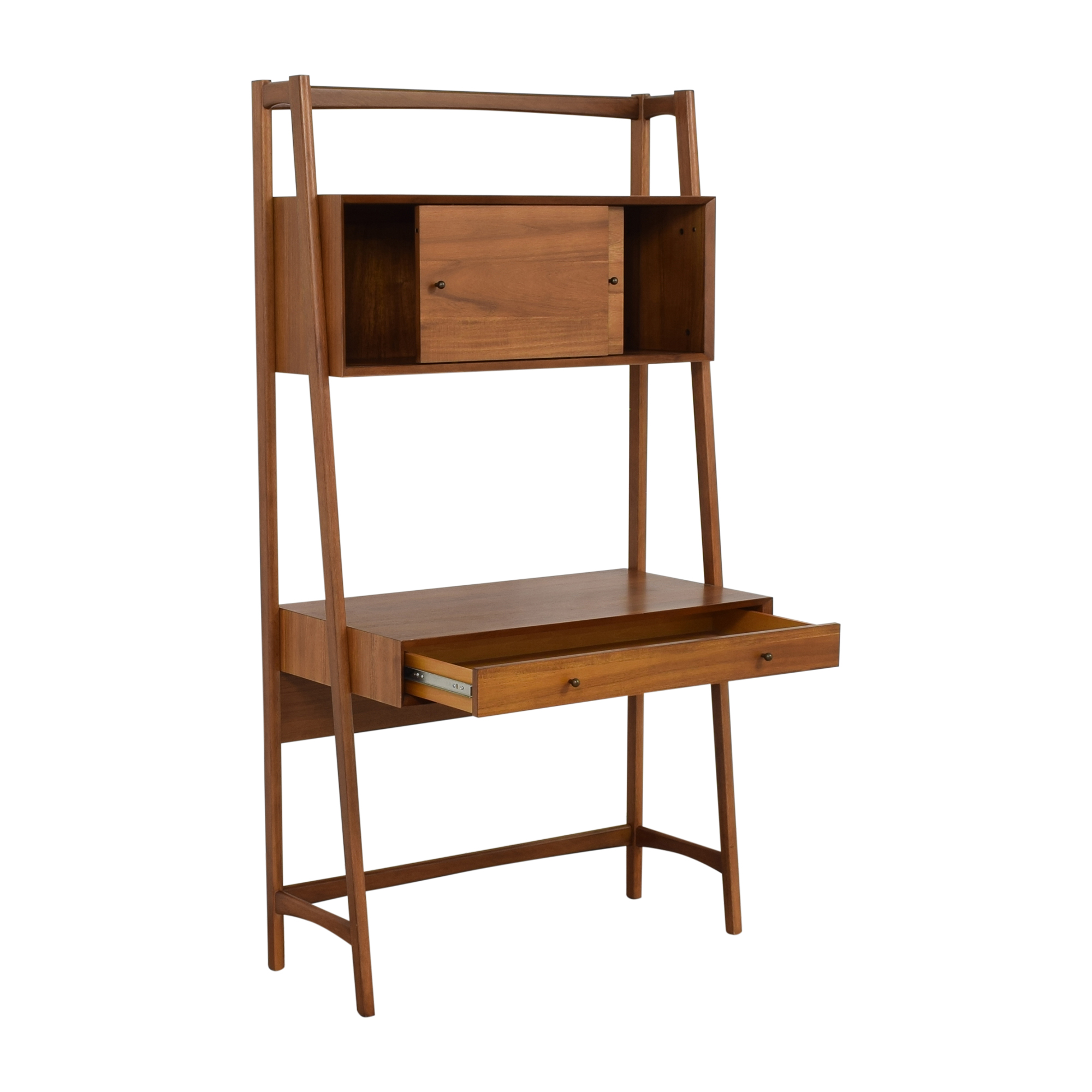 West Elm West Elm Mid-Century Wall Desk Home Office Desks
