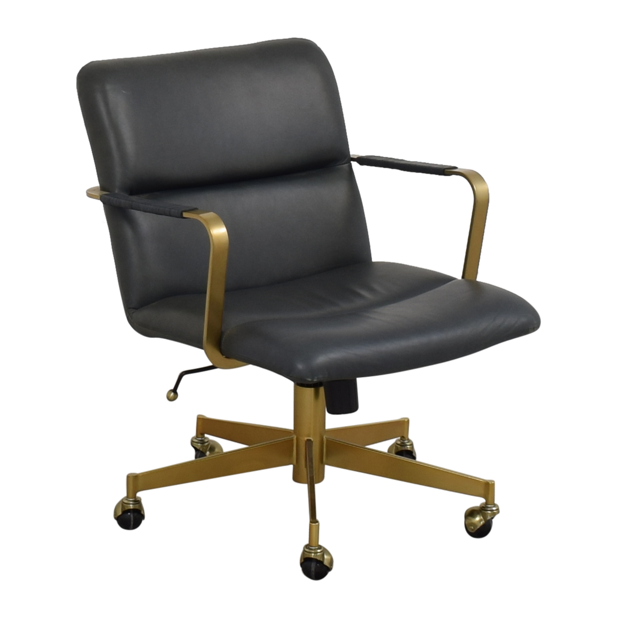 West Elm West Elm Cooper Mid-Century Swivel Office Chair nyc