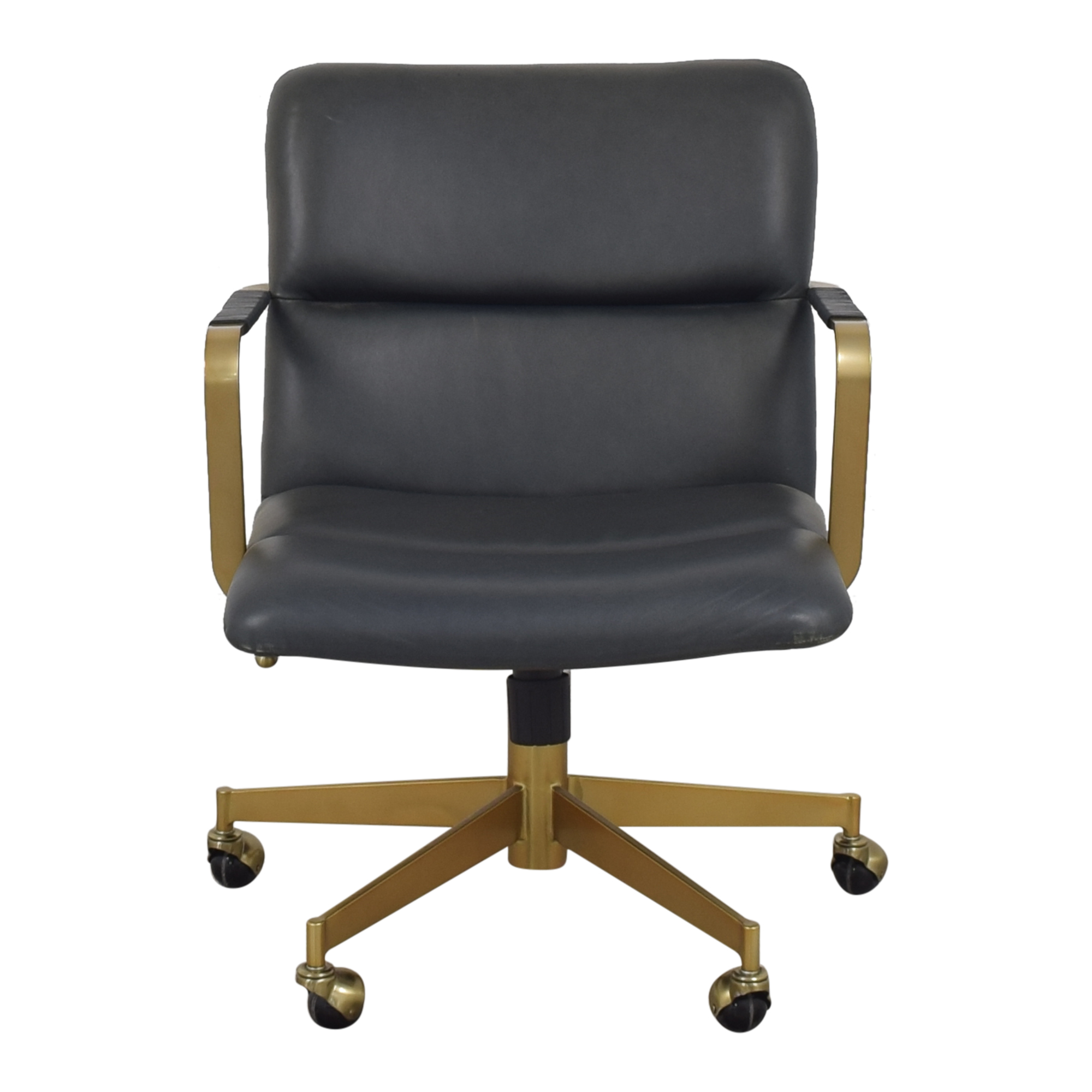 West Elm West Elm Cooper Mid-Century Swivel Office Chair dimensions