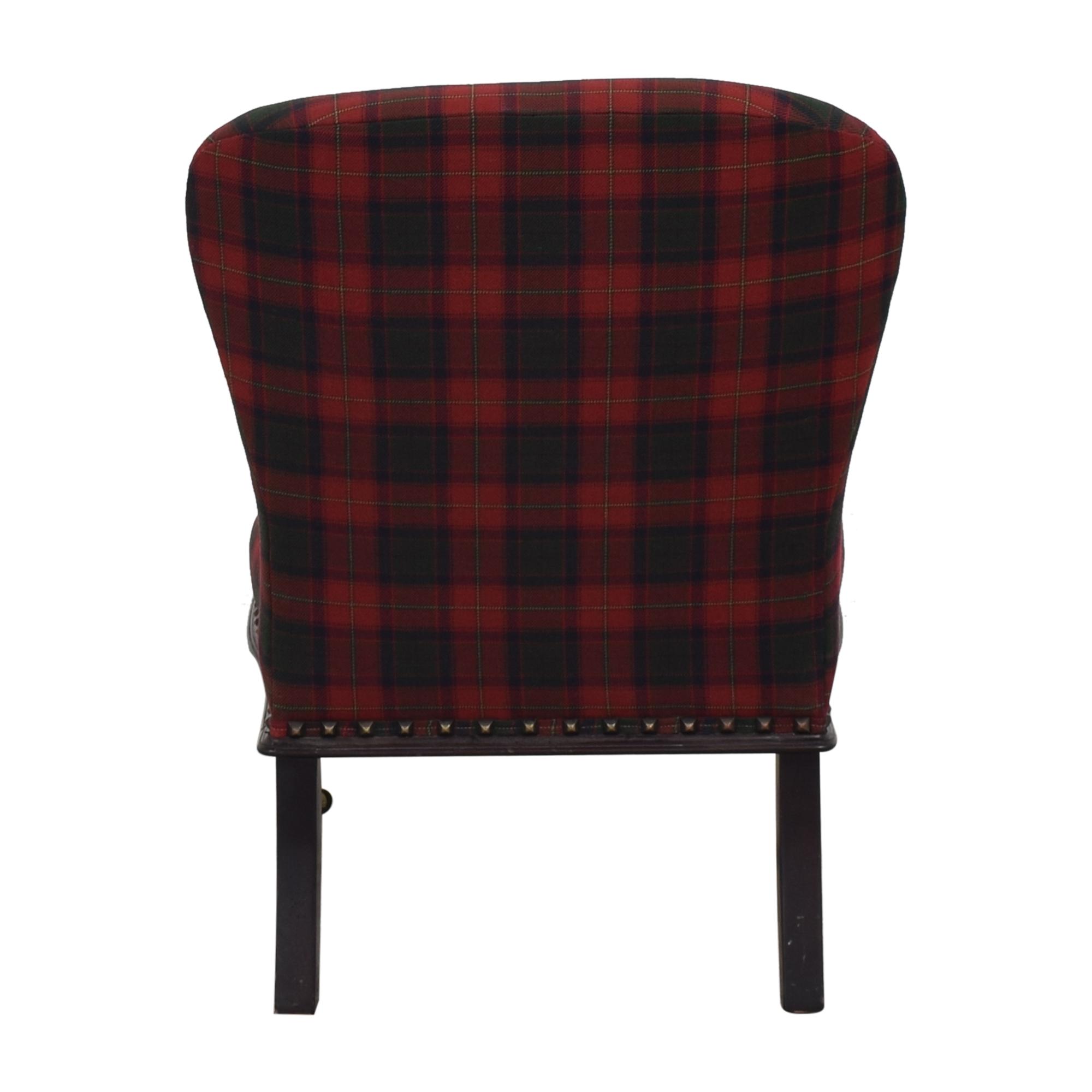 Ralph Lauren Plaid Chair / Accent Chairs