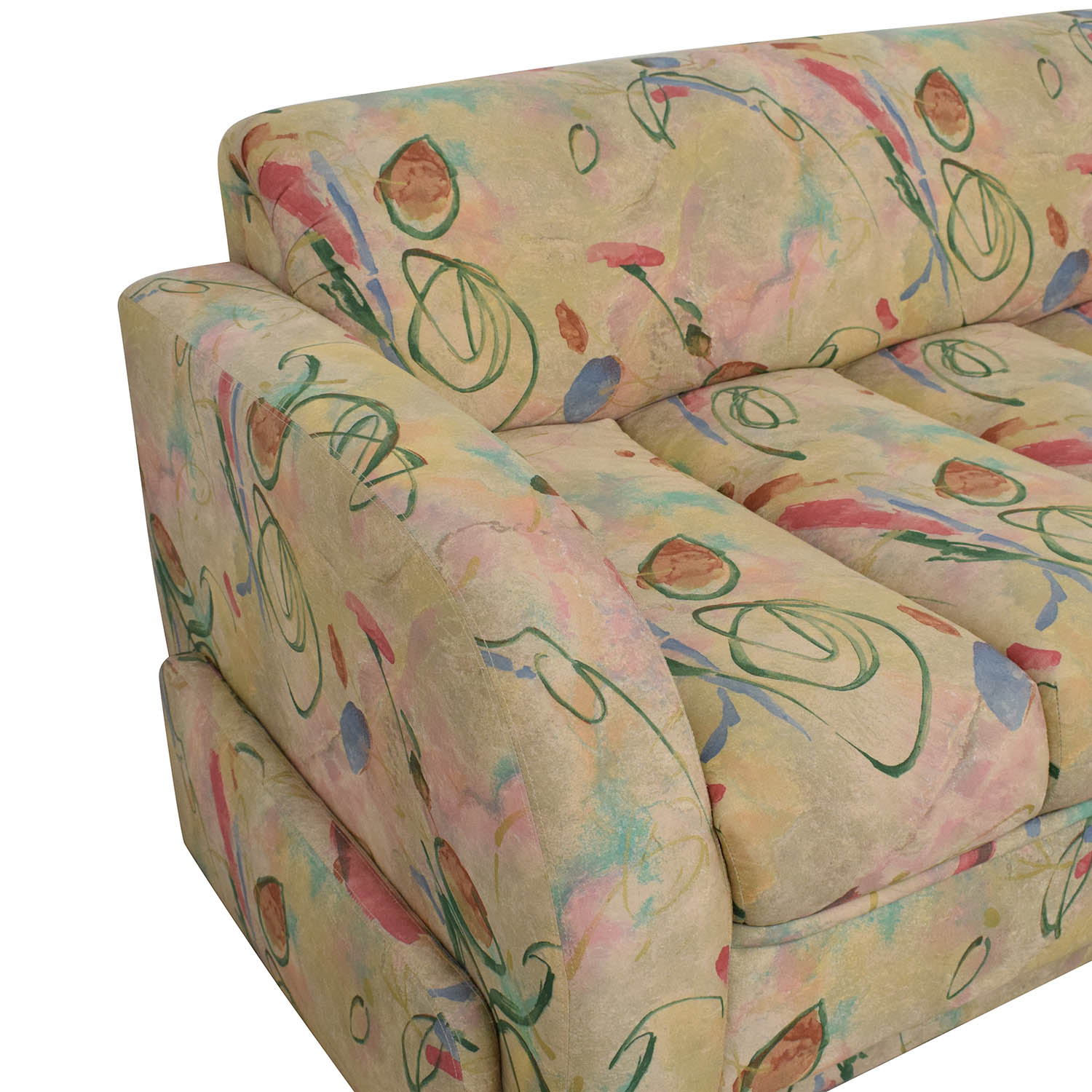 Directional Furniture Directional Furniture Custom Collection Floral Three Piece Sectional Sofa Sofas