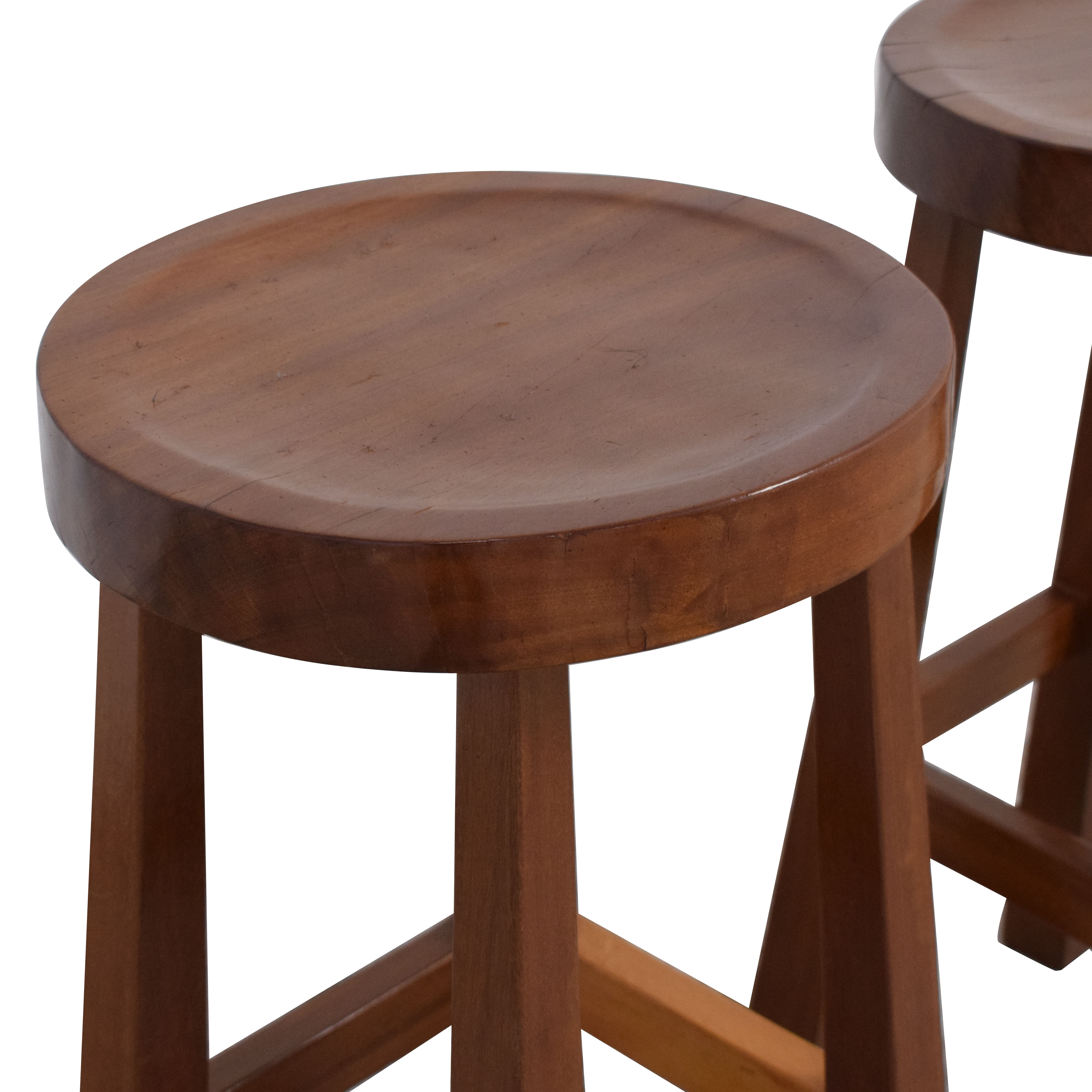Mission Style Wood Bar Stools coupon