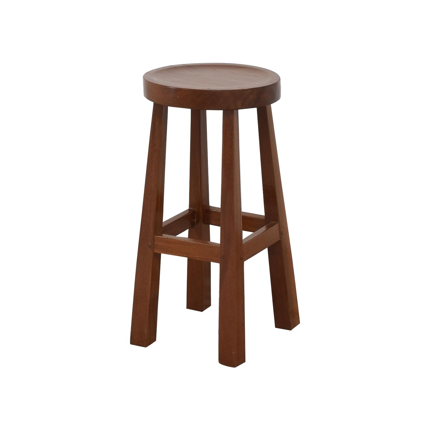 buy Mission Style Wood Bar Stools
