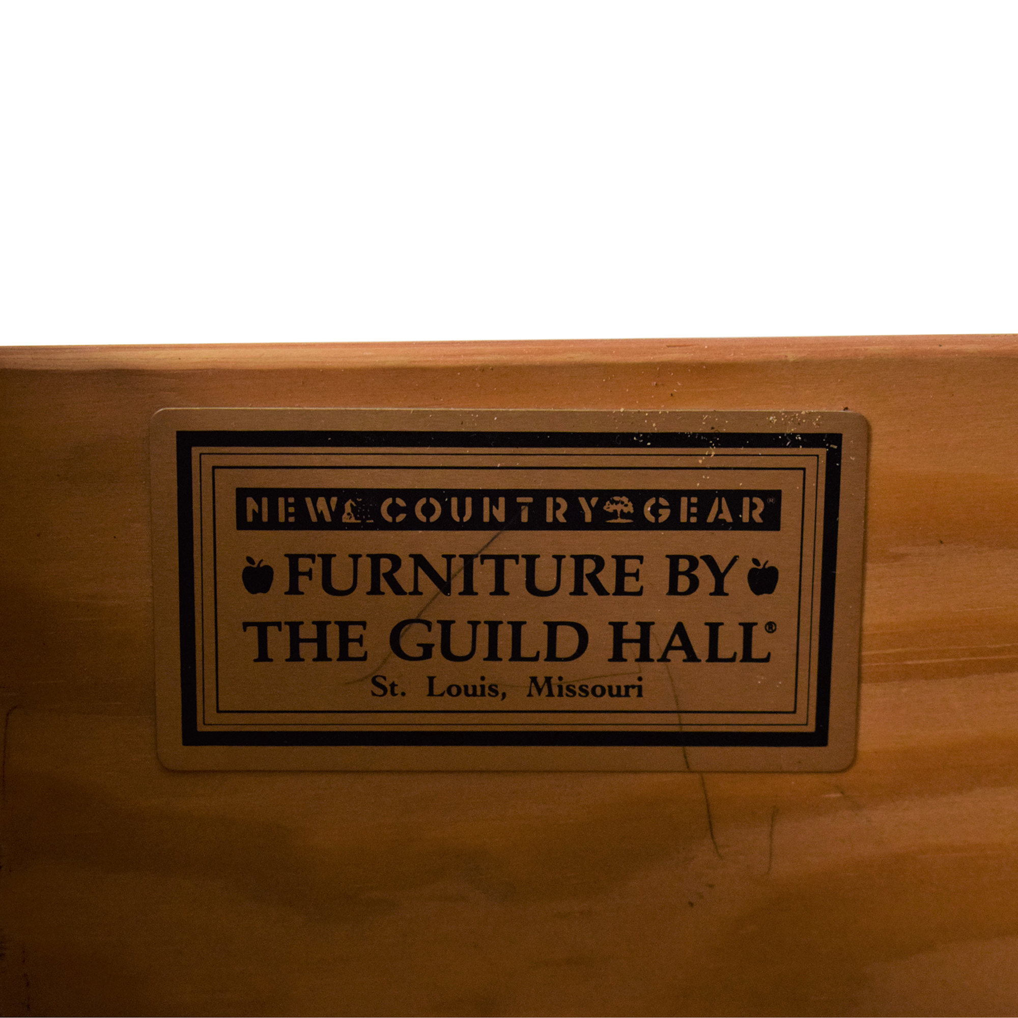The Guild Hall Cabinet with Hutch / Storage