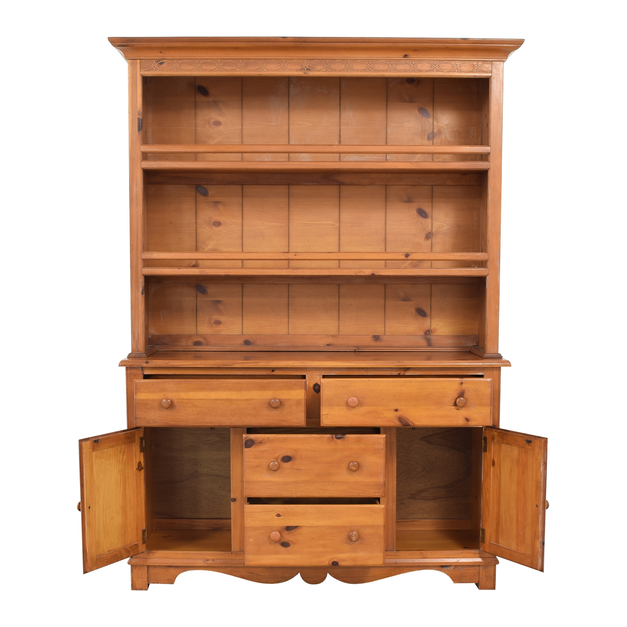 The Guild Hall Cabinet with Hutch nyc