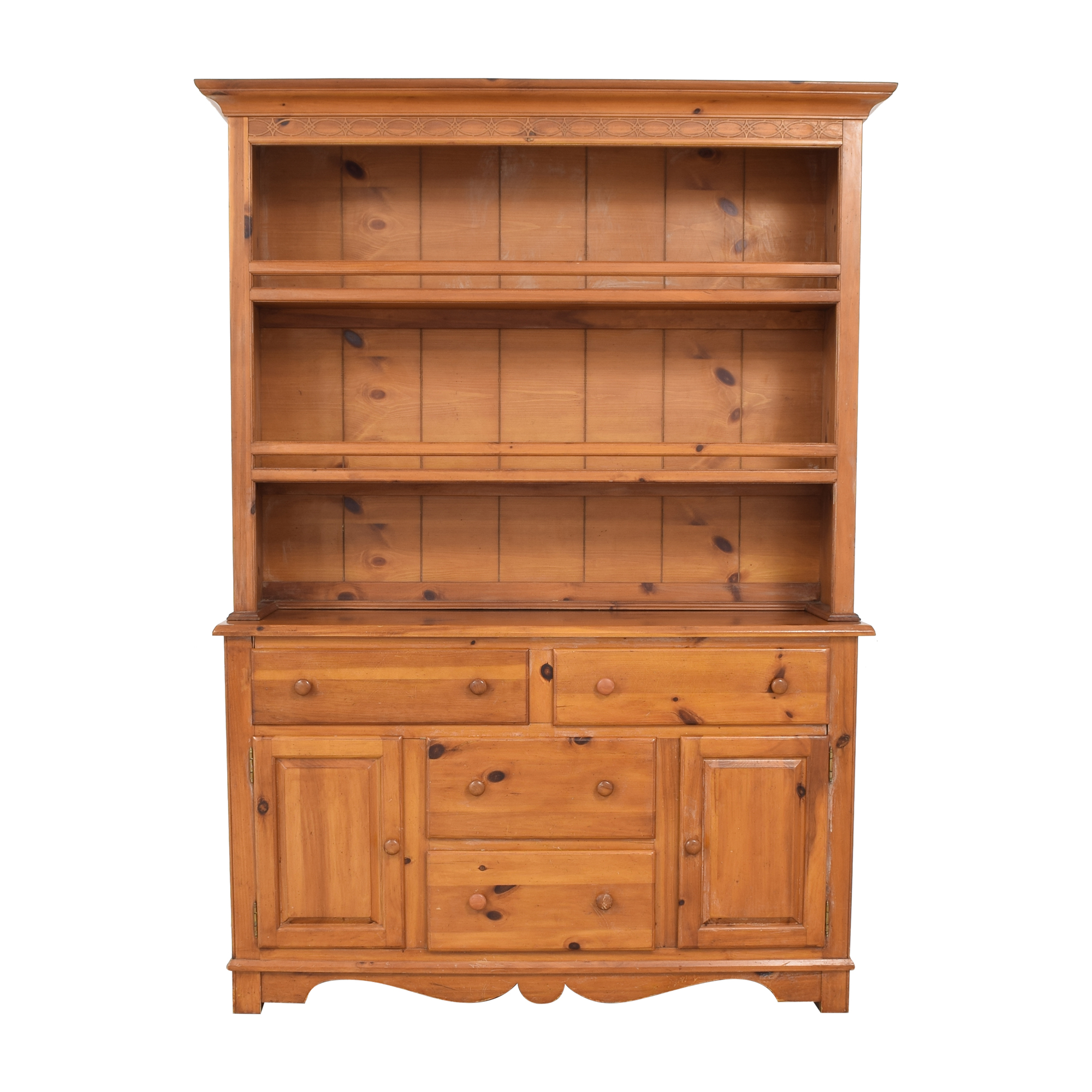 buy The Guild Hall Cabinet with Hutch  Cabinets & Sideboards