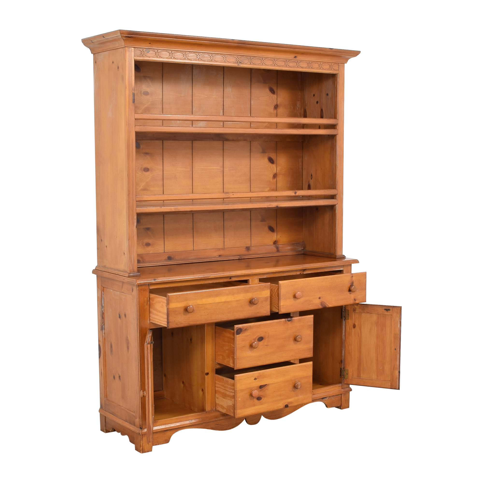 The Guild Hall Cabinet with Hutch Cabinets & Sideboards