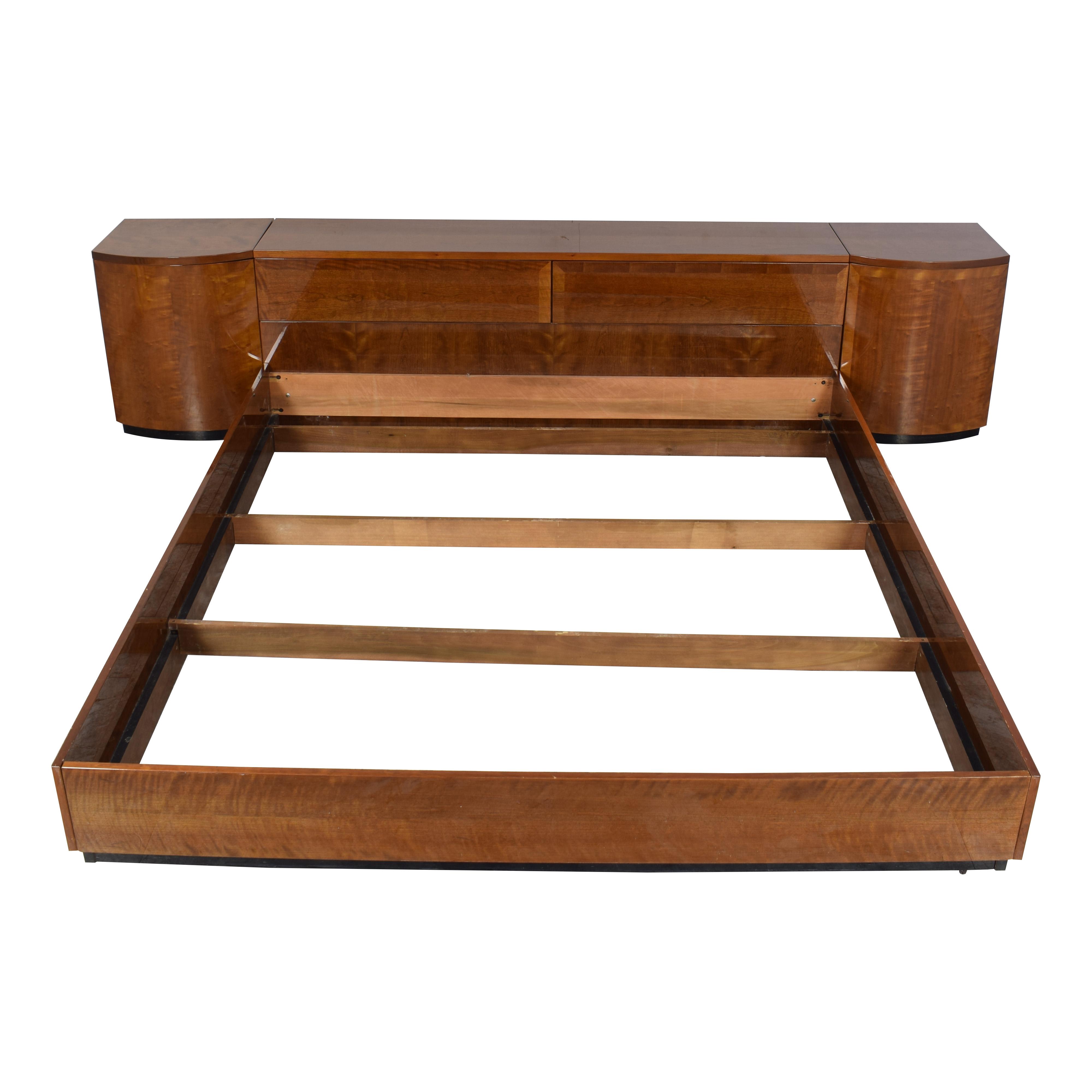 shop Henredon Furniture Henredon Furniture King Storage Bed with Nightstands online