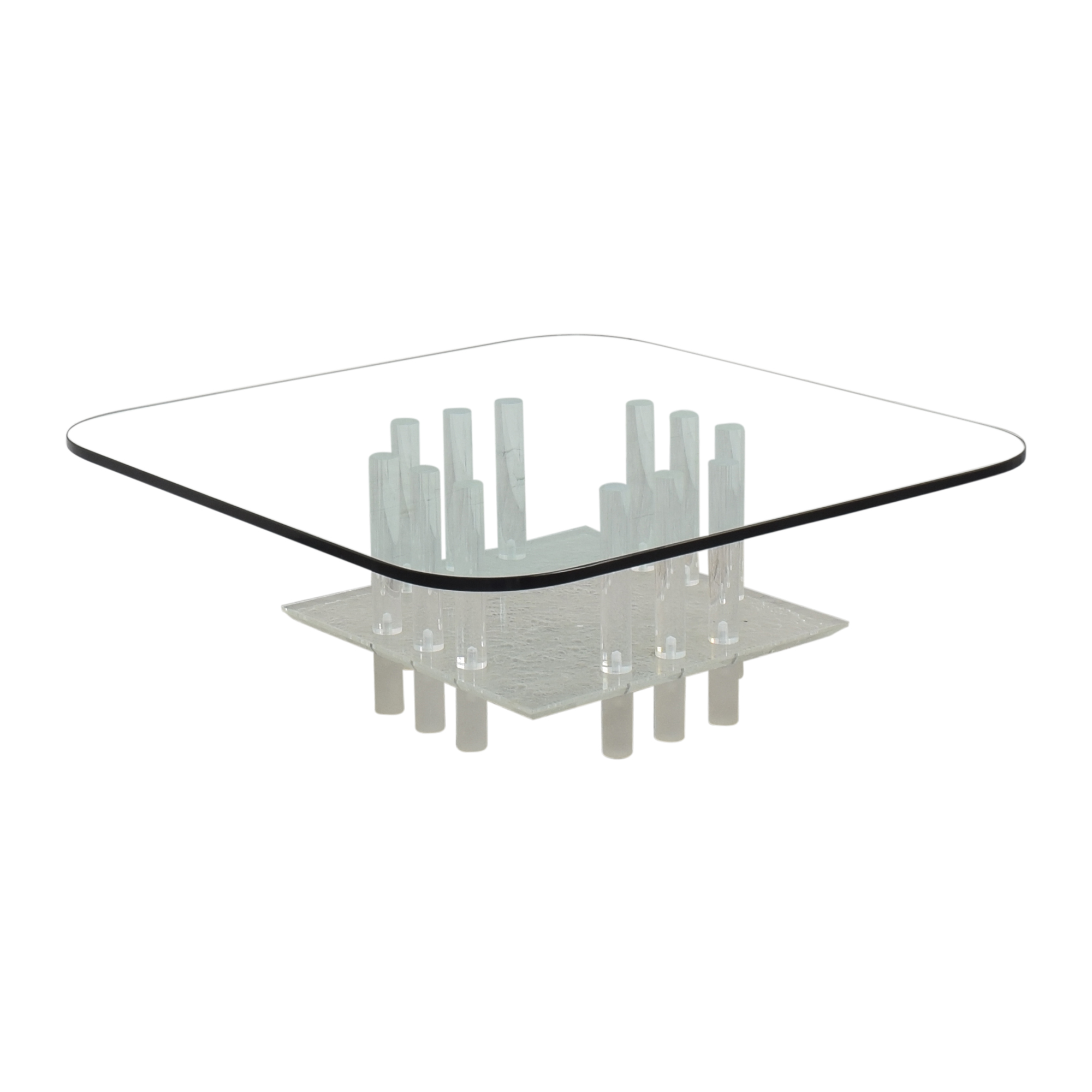 Directional Furniture Glass Coffee Table / Coffee Tables