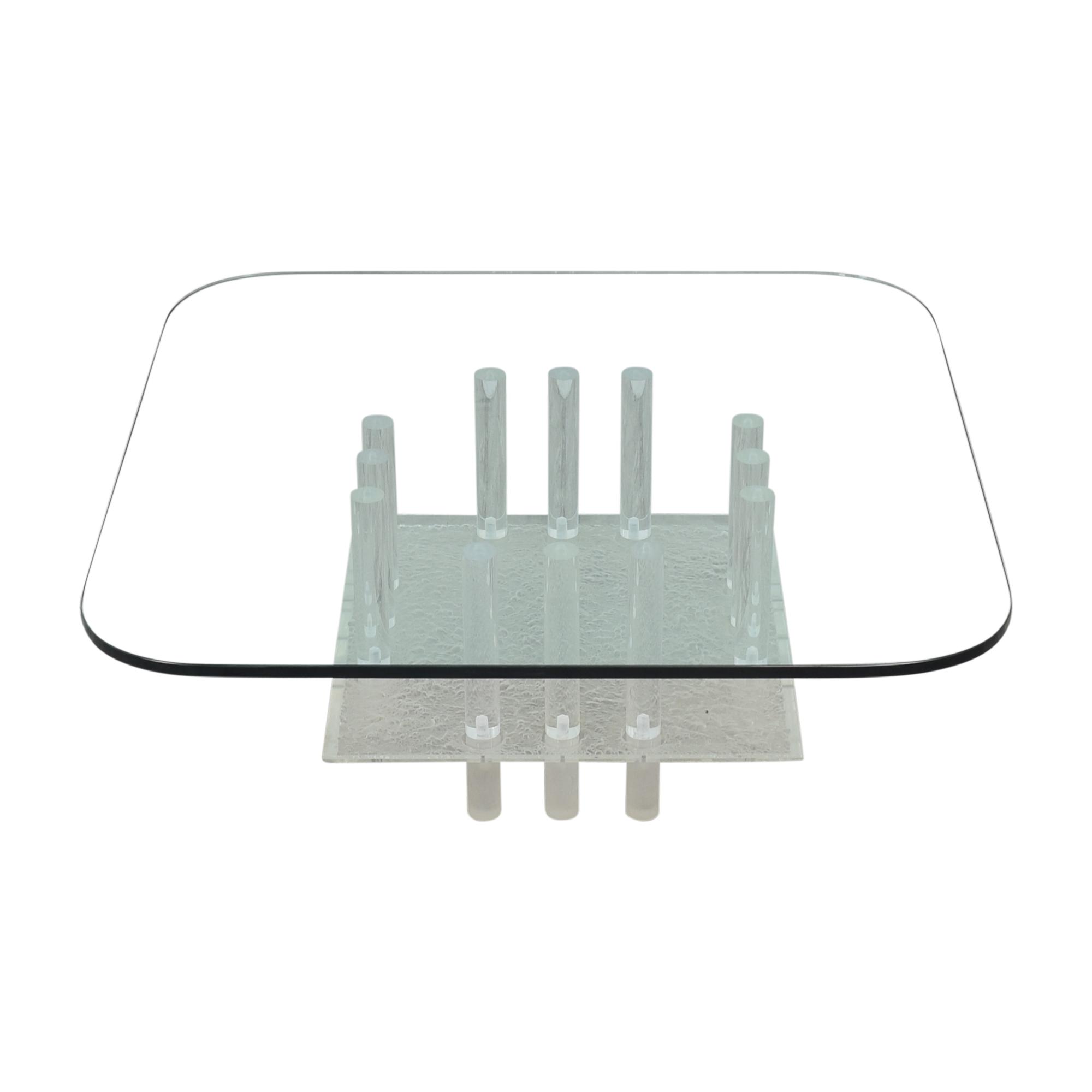 Directional Furniture Directional Furniture Glass Coffee Table ma