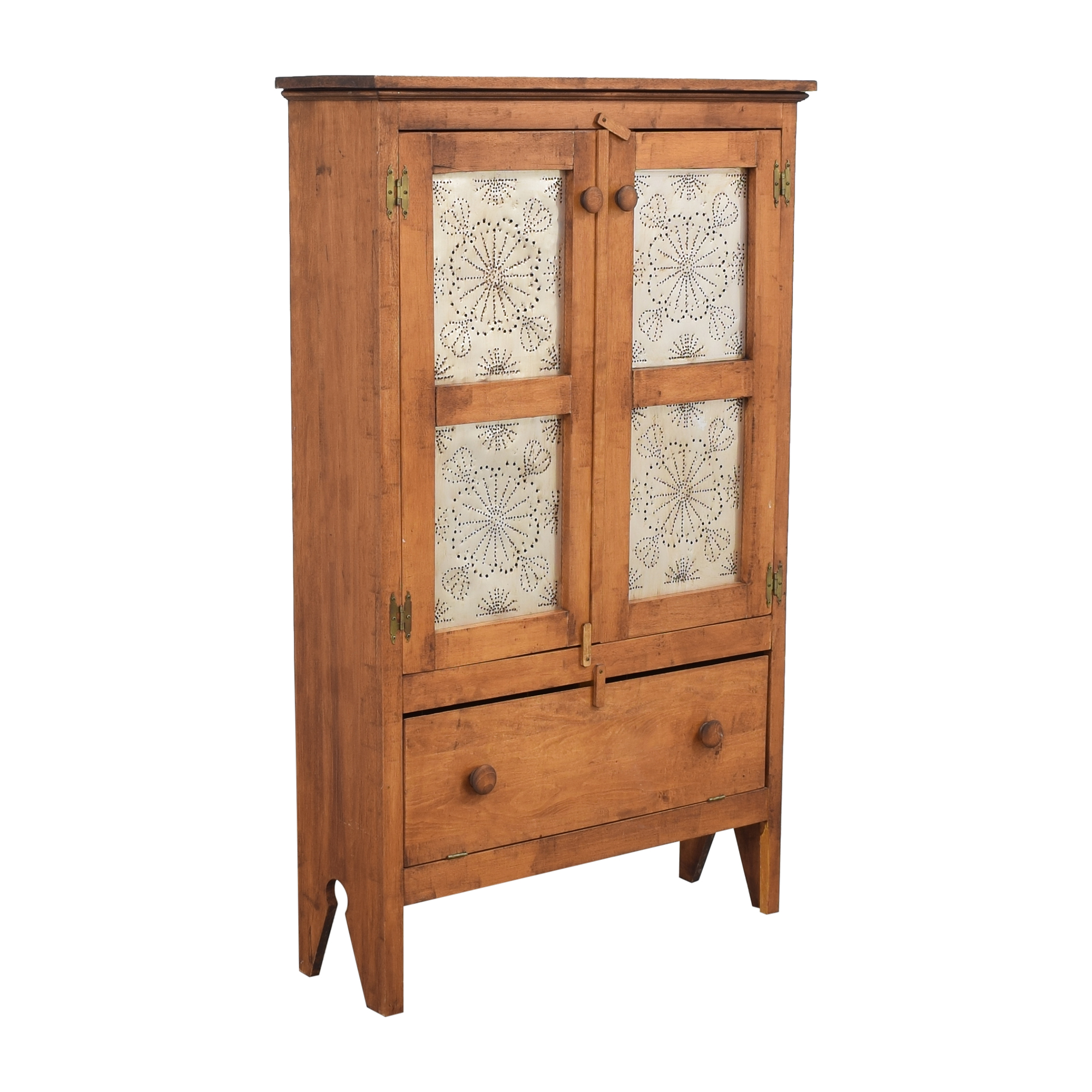 Punch Tin Door Pie Safe / Cabinets & Sideboards