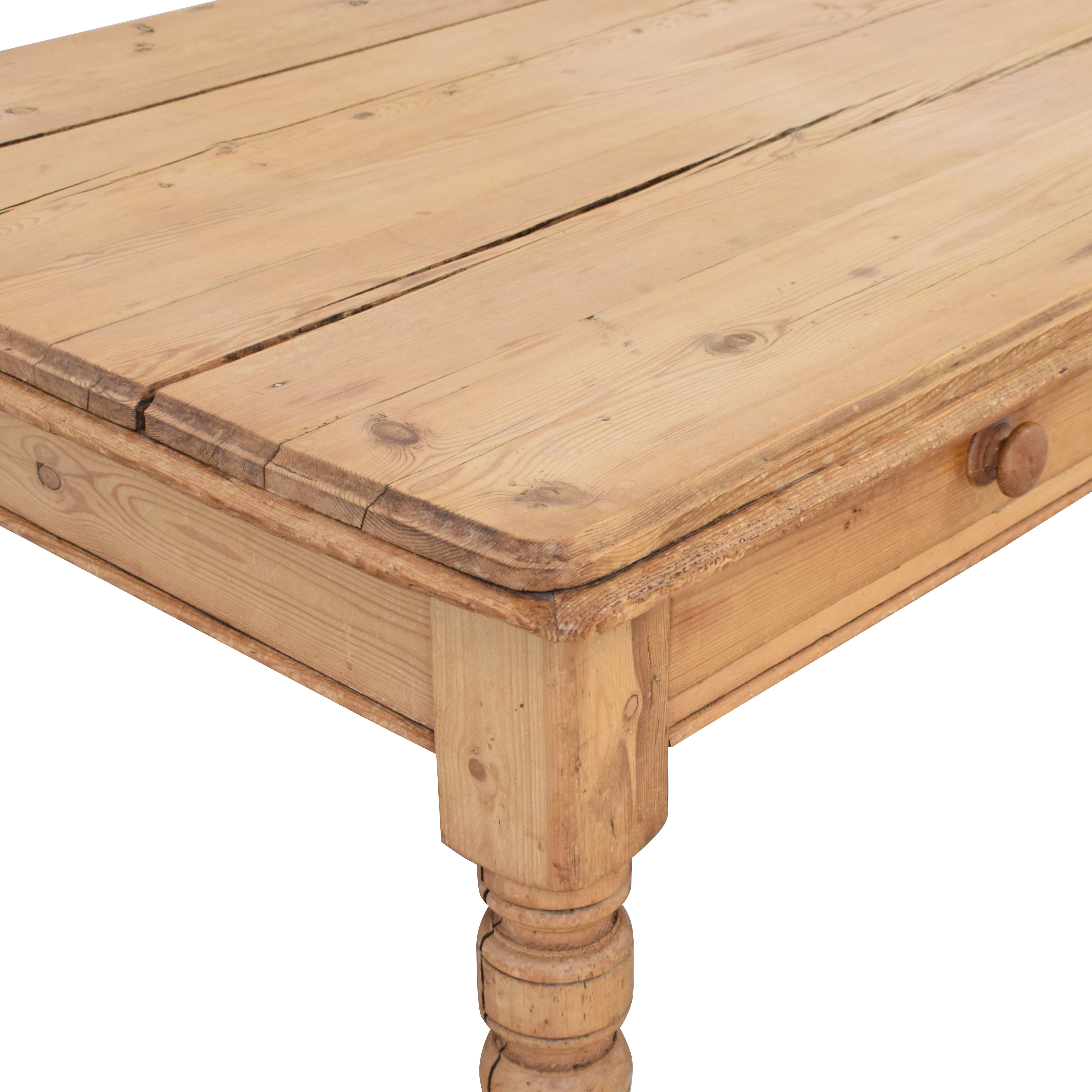 Rustic Wood Table coupon