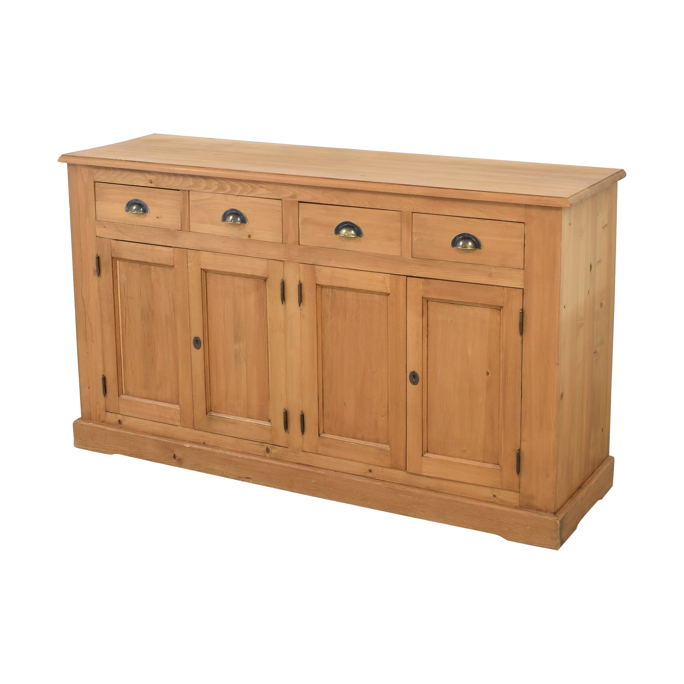 shop Wooden Cabinet with Four Drawers  Storage