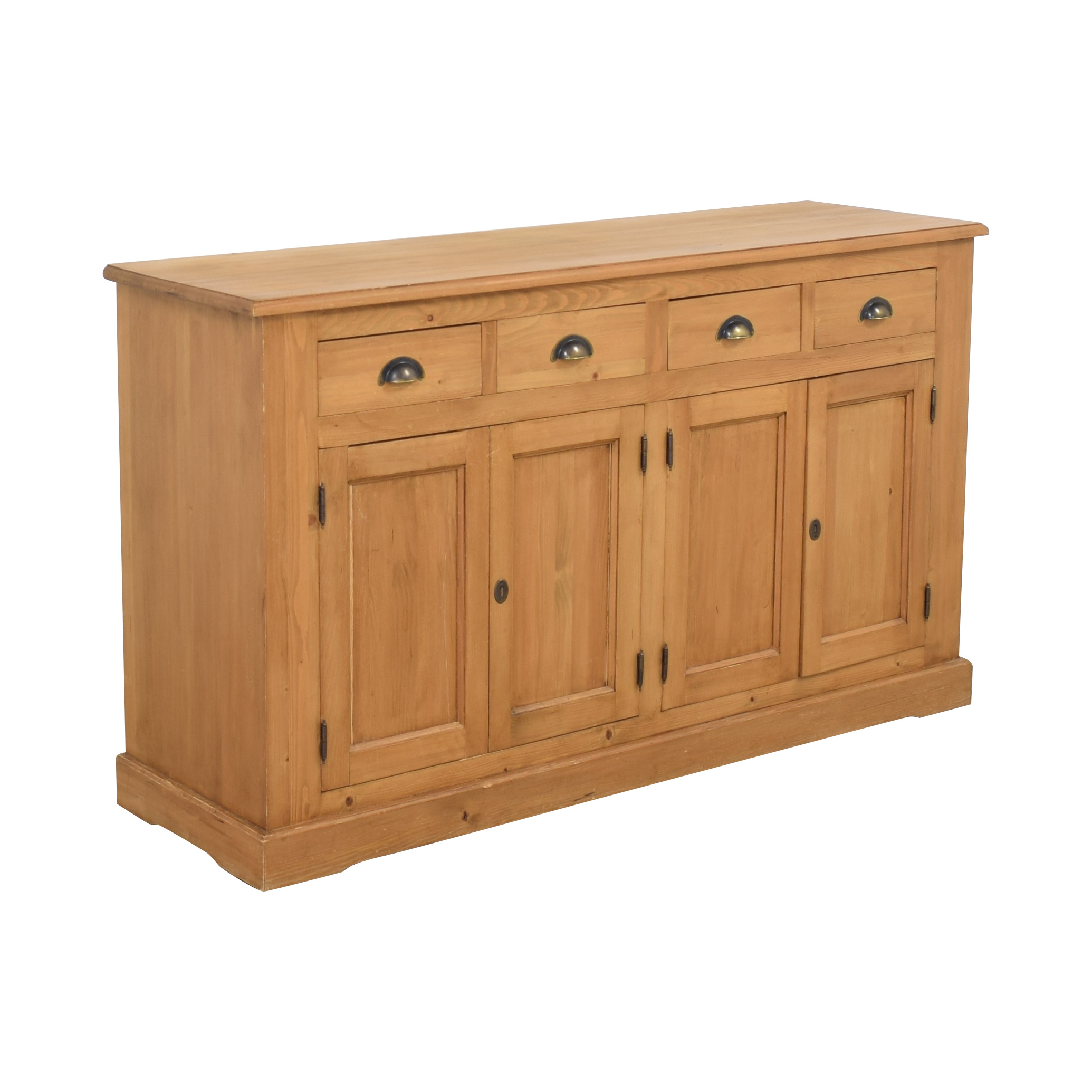 Wooden Cabinet with Four Drawers coupon