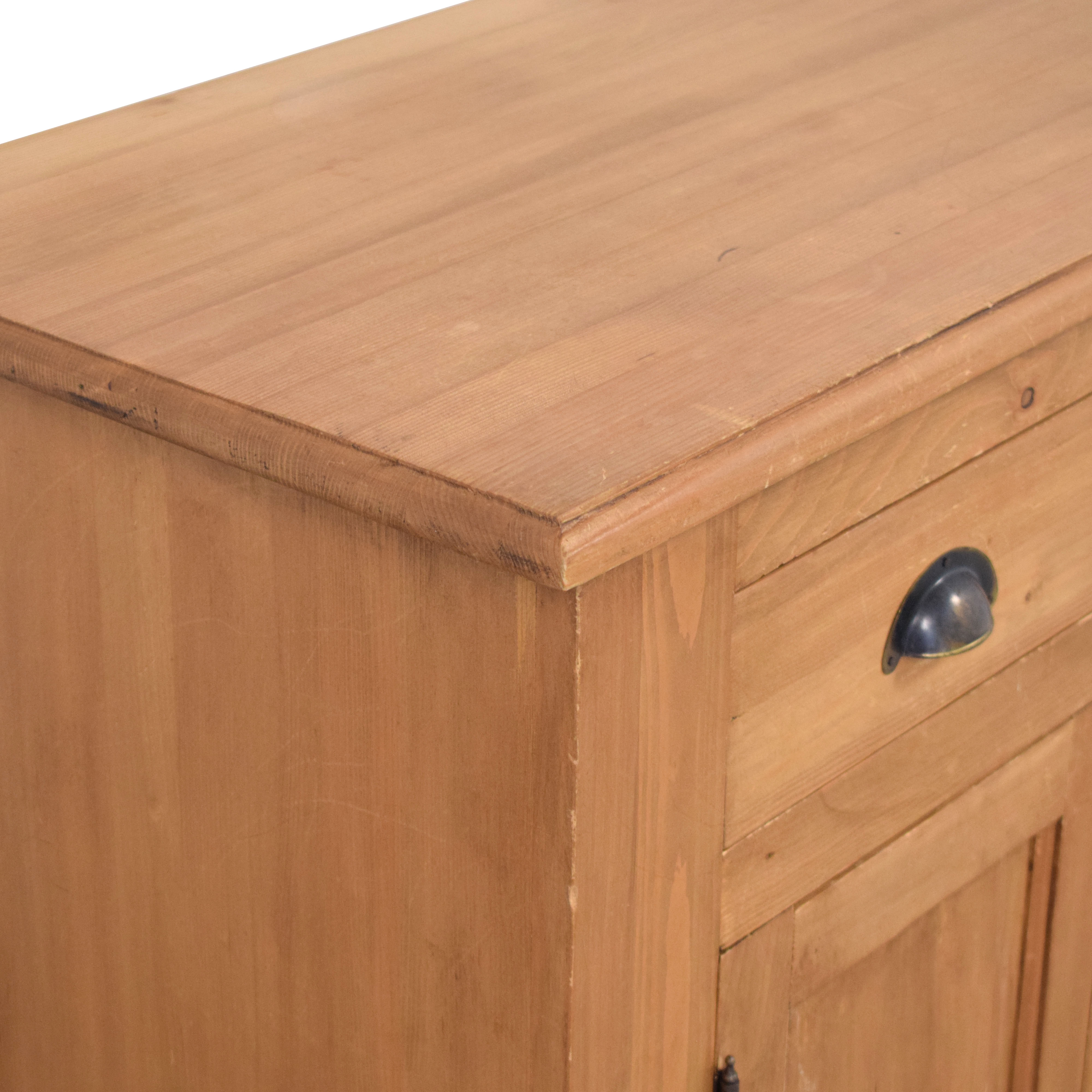 Wooden Cabinet with Four Drawers used