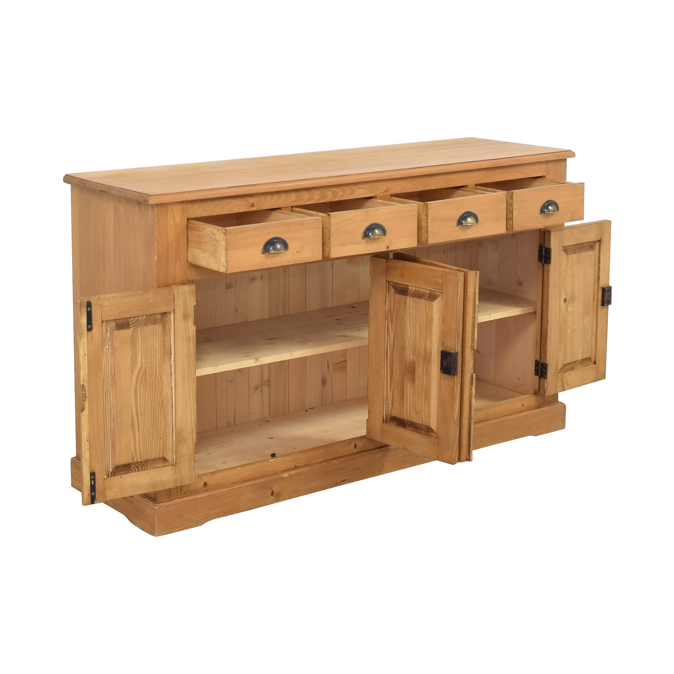 Wooden Cabinet with Four Drawers ma