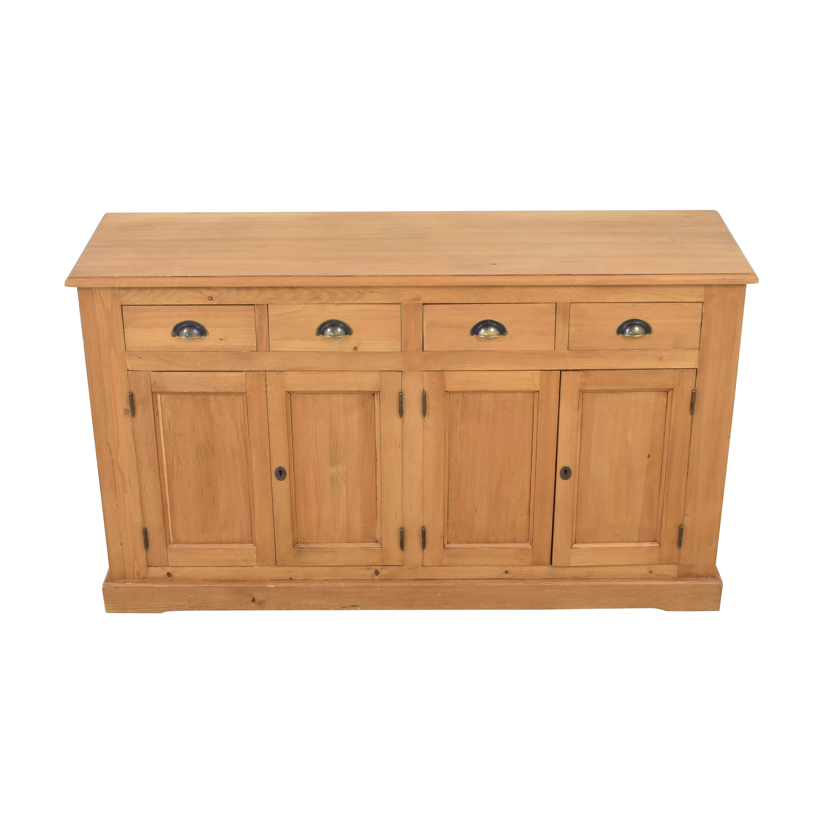 Wooden Cabinet with Four Drawers second hand