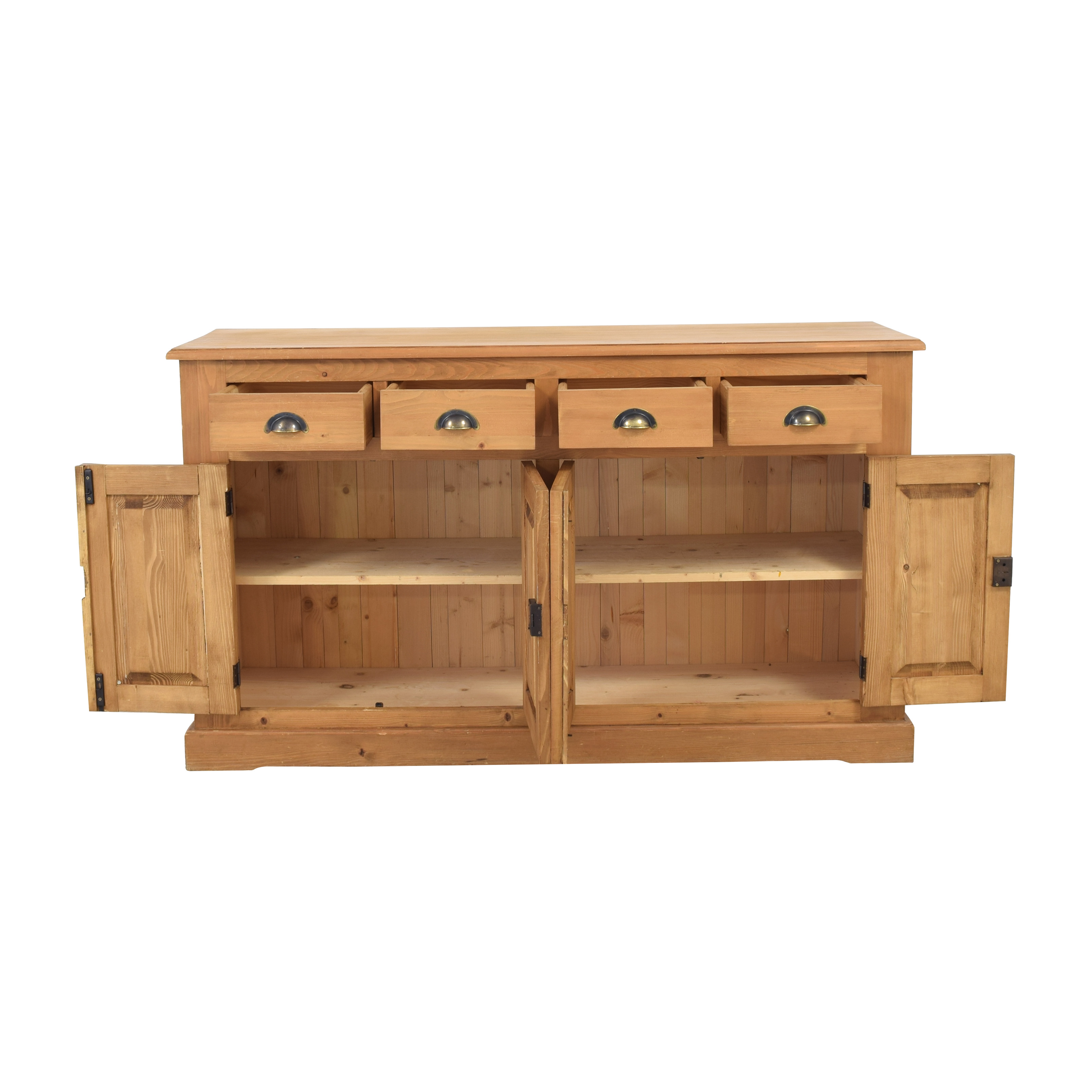 Wooden Cabinet with Four Drawers nj
