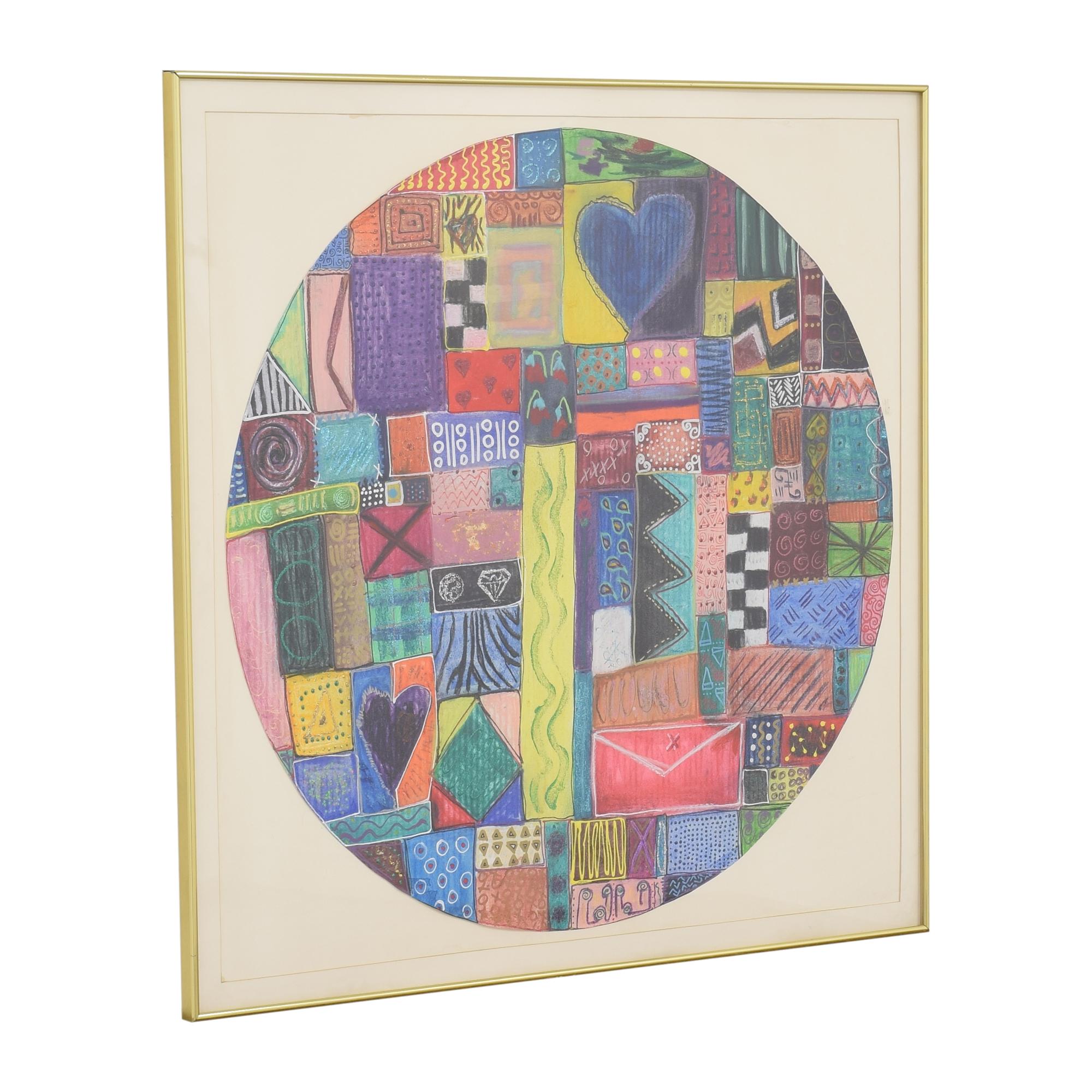 Circular Abstract Wall Art Wall Art
