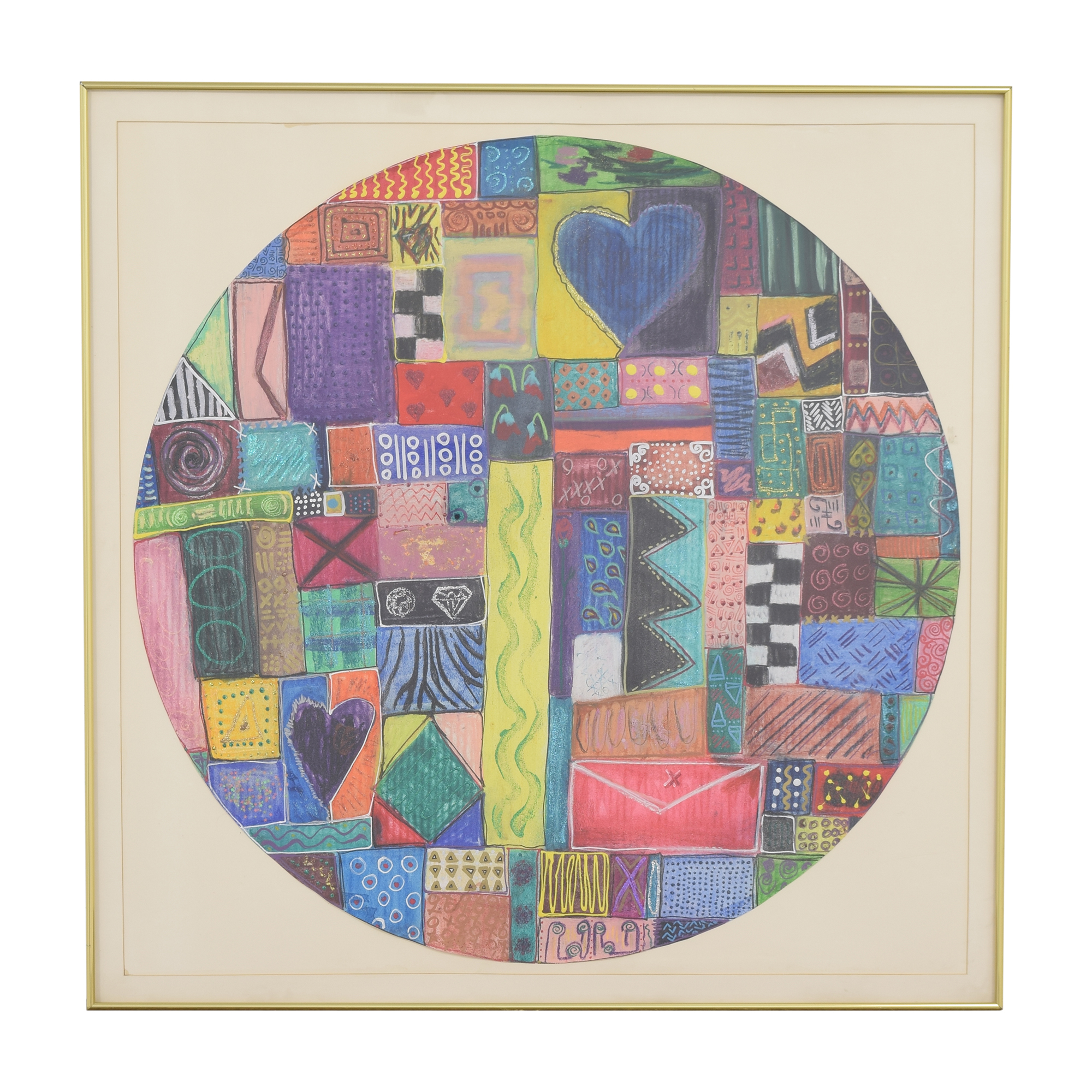 shop  Circular Abstract Wall Art online