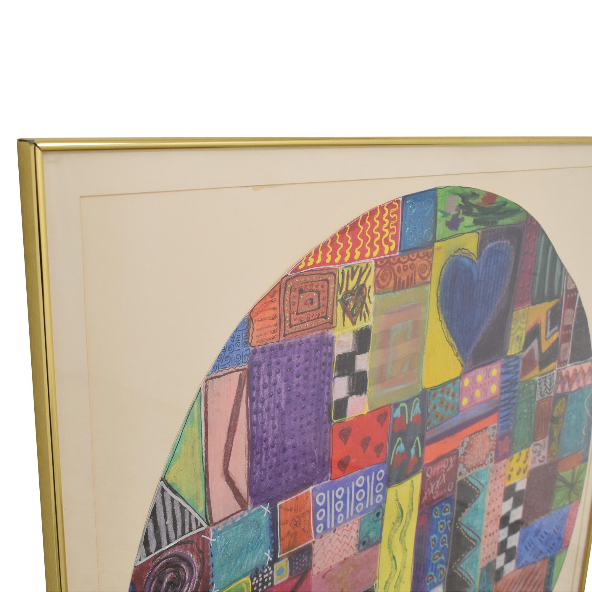 buy Circular Abstract Wall Art