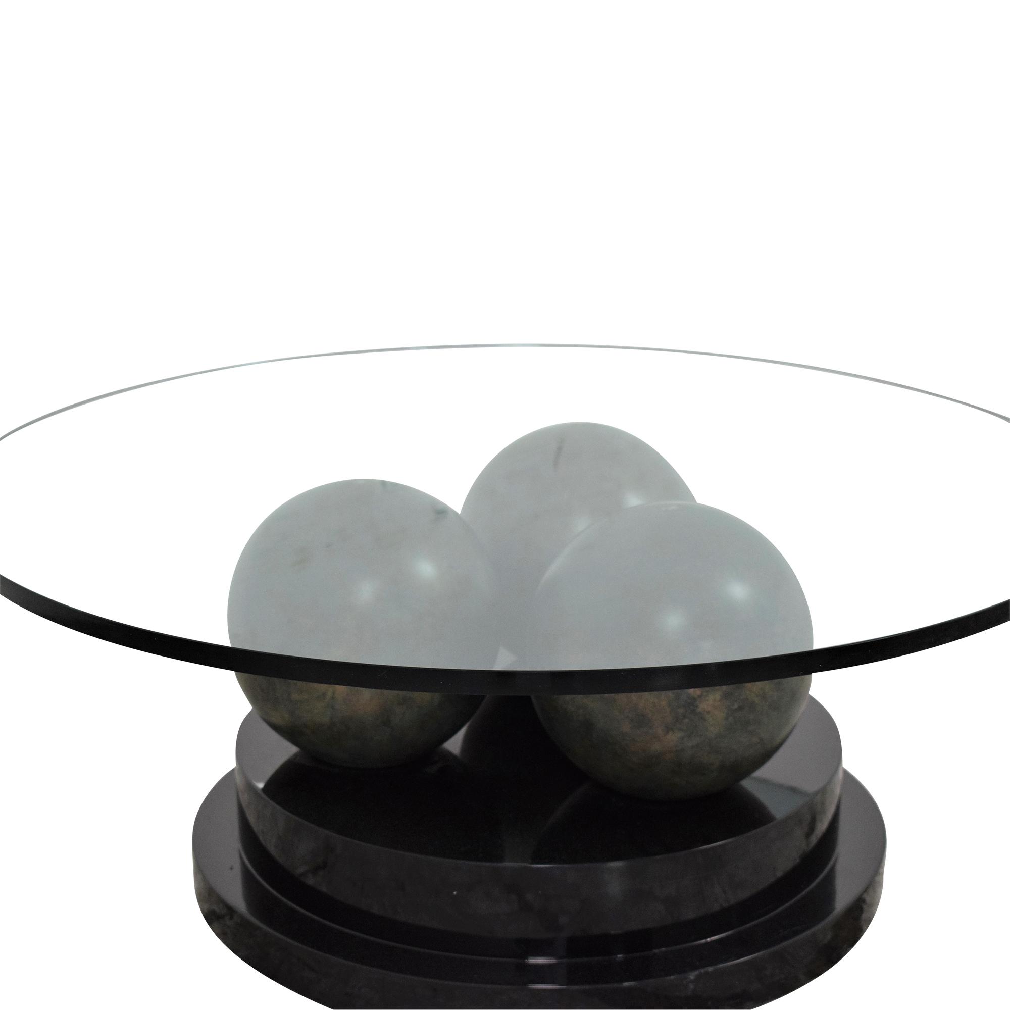 Directional Furniture Directional Furniture Glass Coffee Table nyc