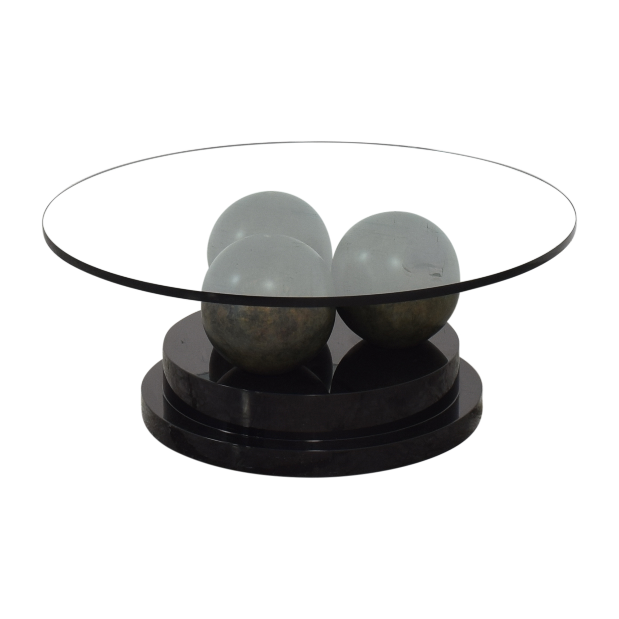 Directional Furniture Directional Furniture Glass Coffee Table discount