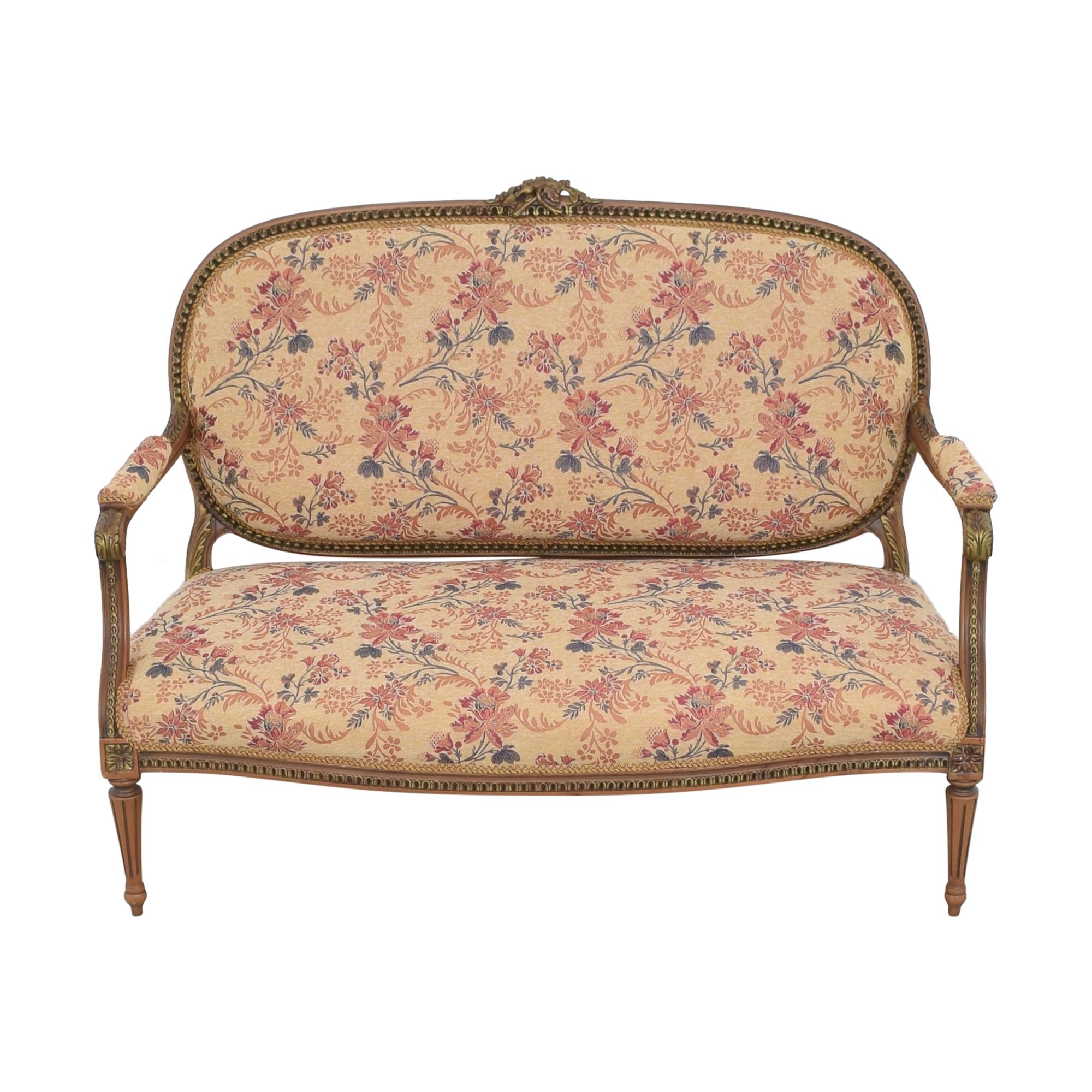 buy Vintage Floral Settee Sofa