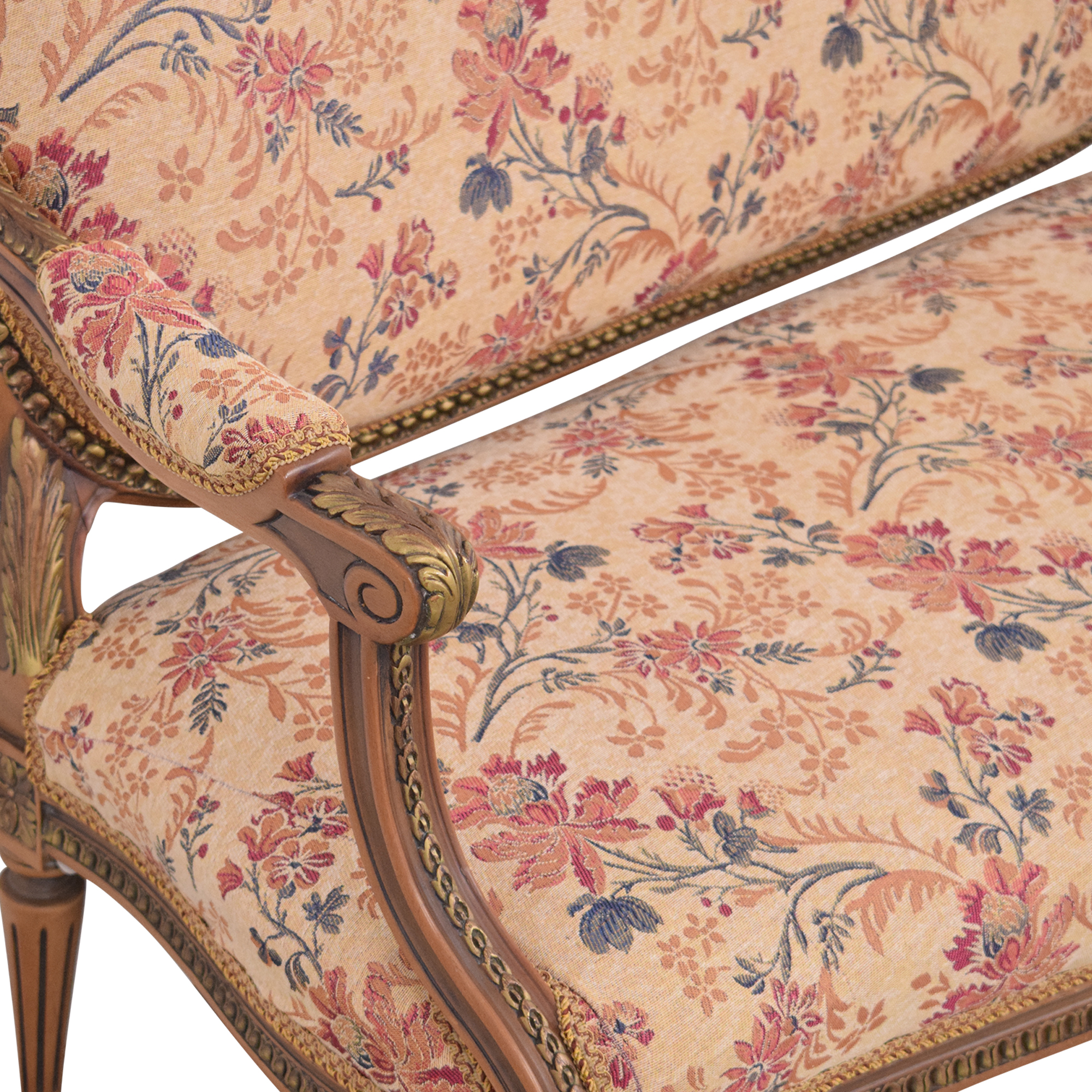 Vintage Floral Settee Sofa coupon