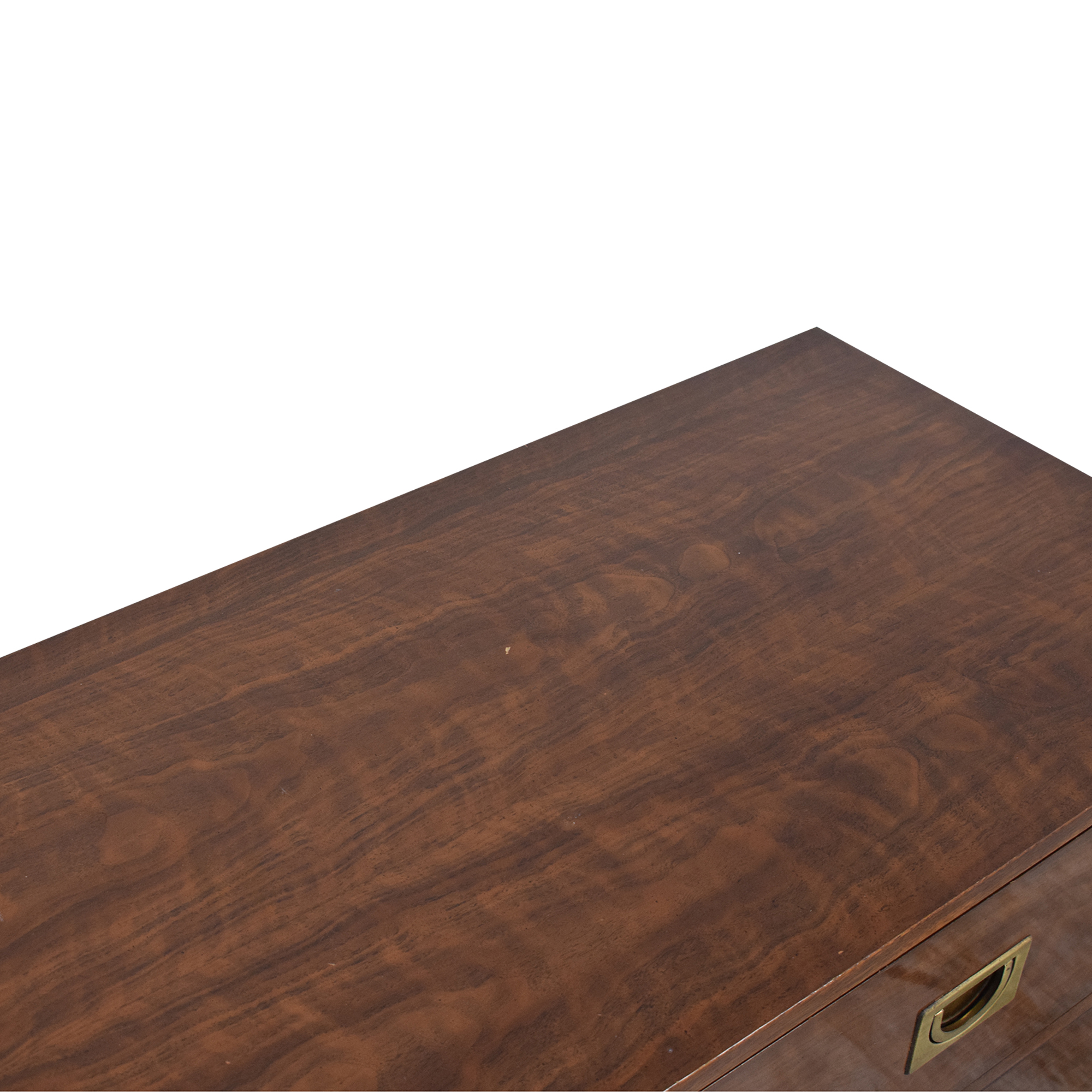 buy Drexel Campaign Style Six Drawer Dresser Drexel Storage