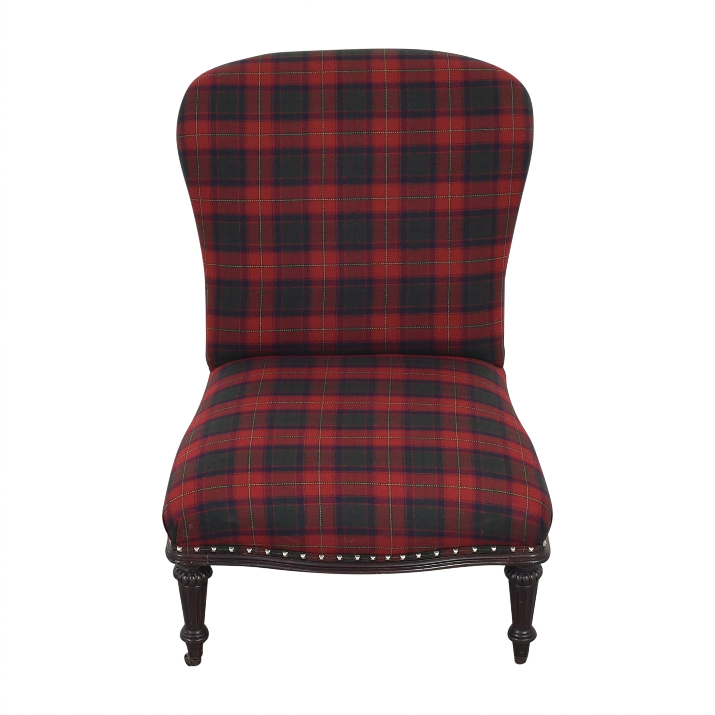 shop Ralph Lauren Plaid Chair Ralph Lauren Home Accent Chairs