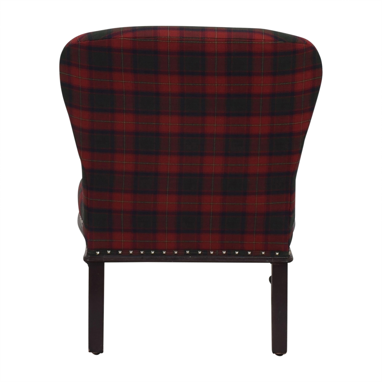 Ralph Lauren Home Ralph Lauren Plaid Chair pa