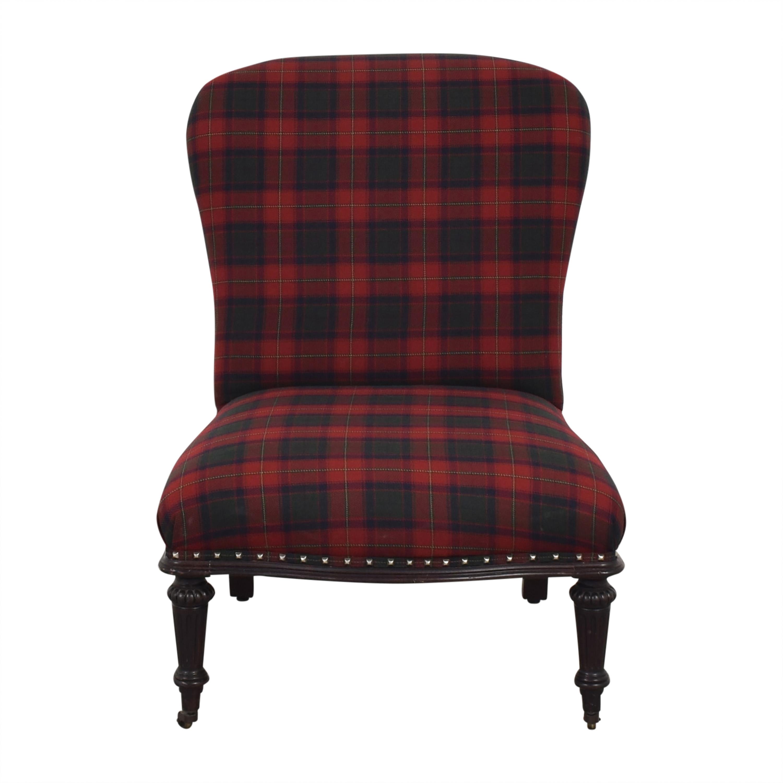 Ralph Lauren Home Ralph Lauren Plaid Chair nyc