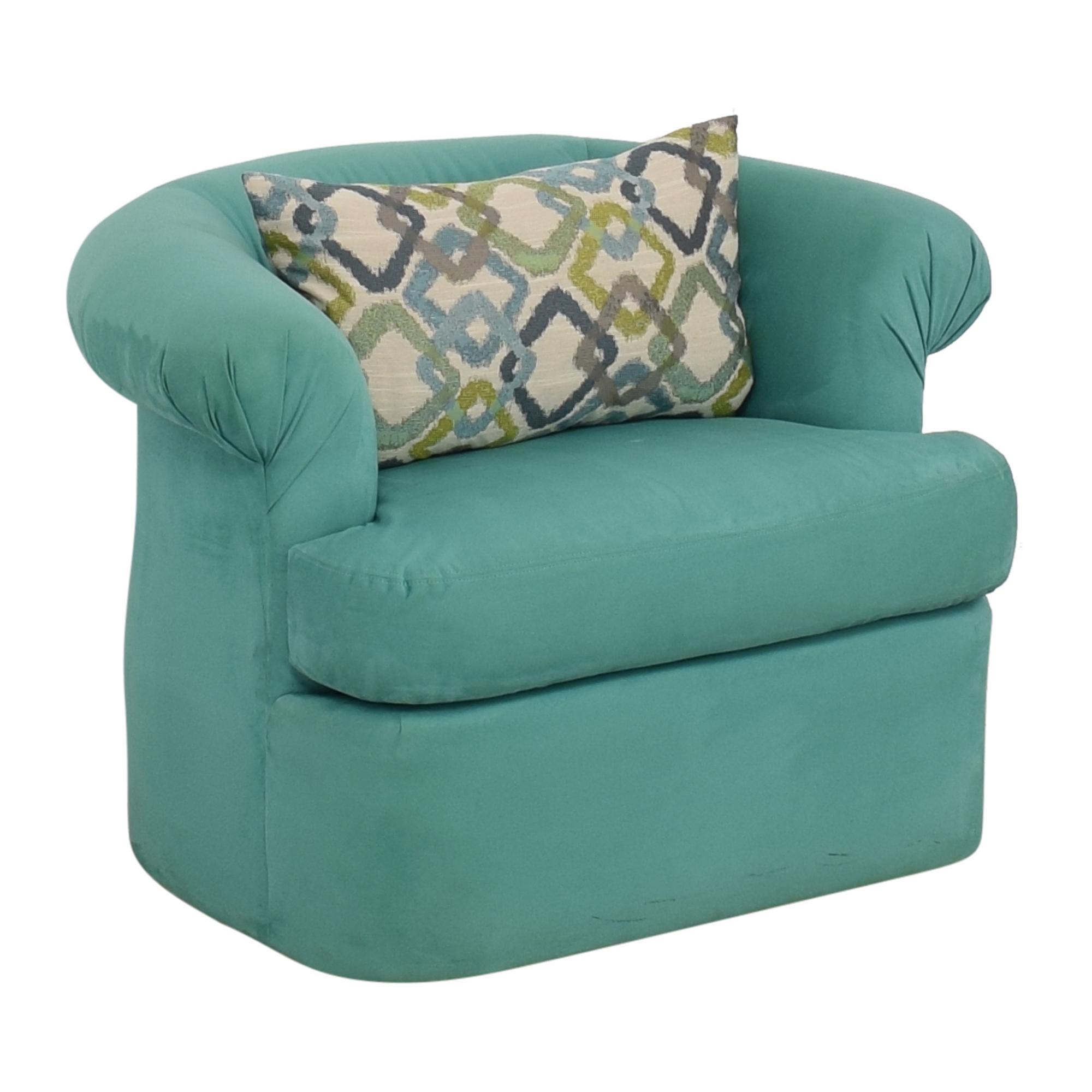Directional Furniture Directional Furniture Suede Chair dimensions