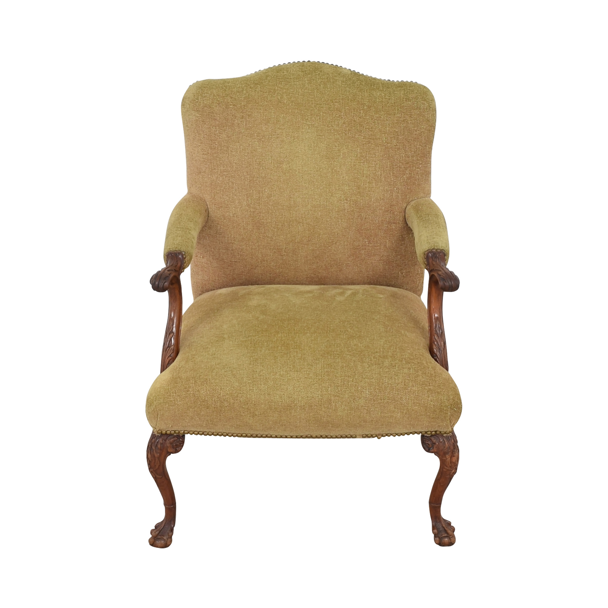 Regency Upholstered Chippendale Occasional Chair / Accent Chairs