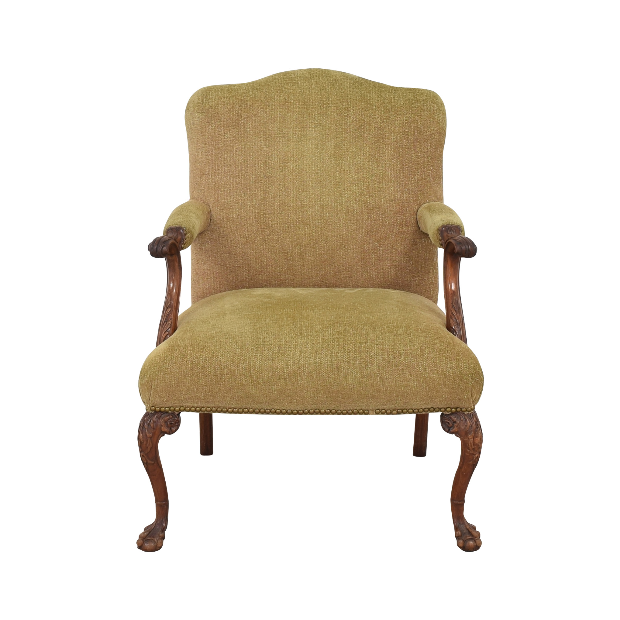 Regency Regency Upholstered Chippendale Occasional Chair ma