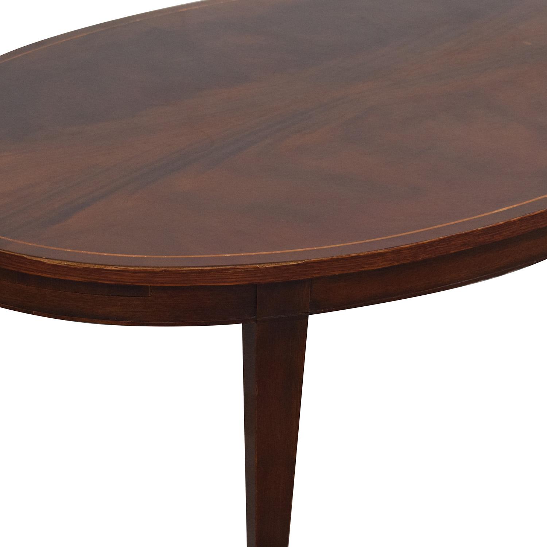 Baker Furniture Baker Furniture Hepplewhite Coffee Table Coffee Tables