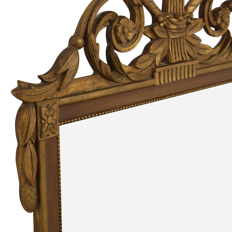 Vintage French Regency Giltwood Mirror / Decor