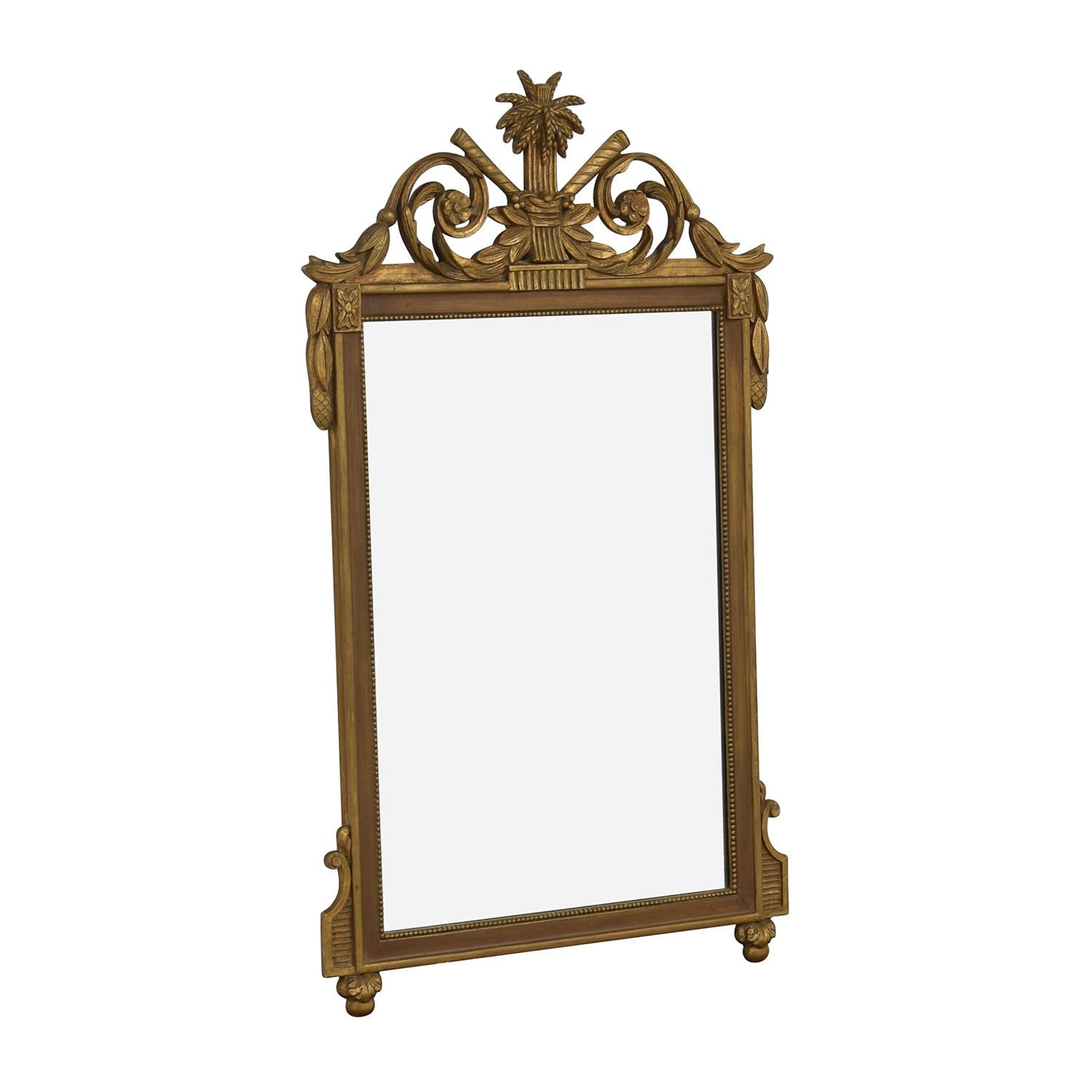 Vintage French Regency Giltwood Mirror Mirrors