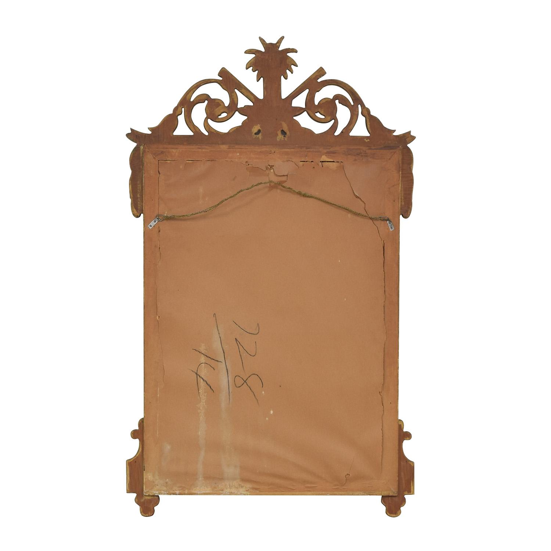 Vintage French Regency Giltwood Mirror