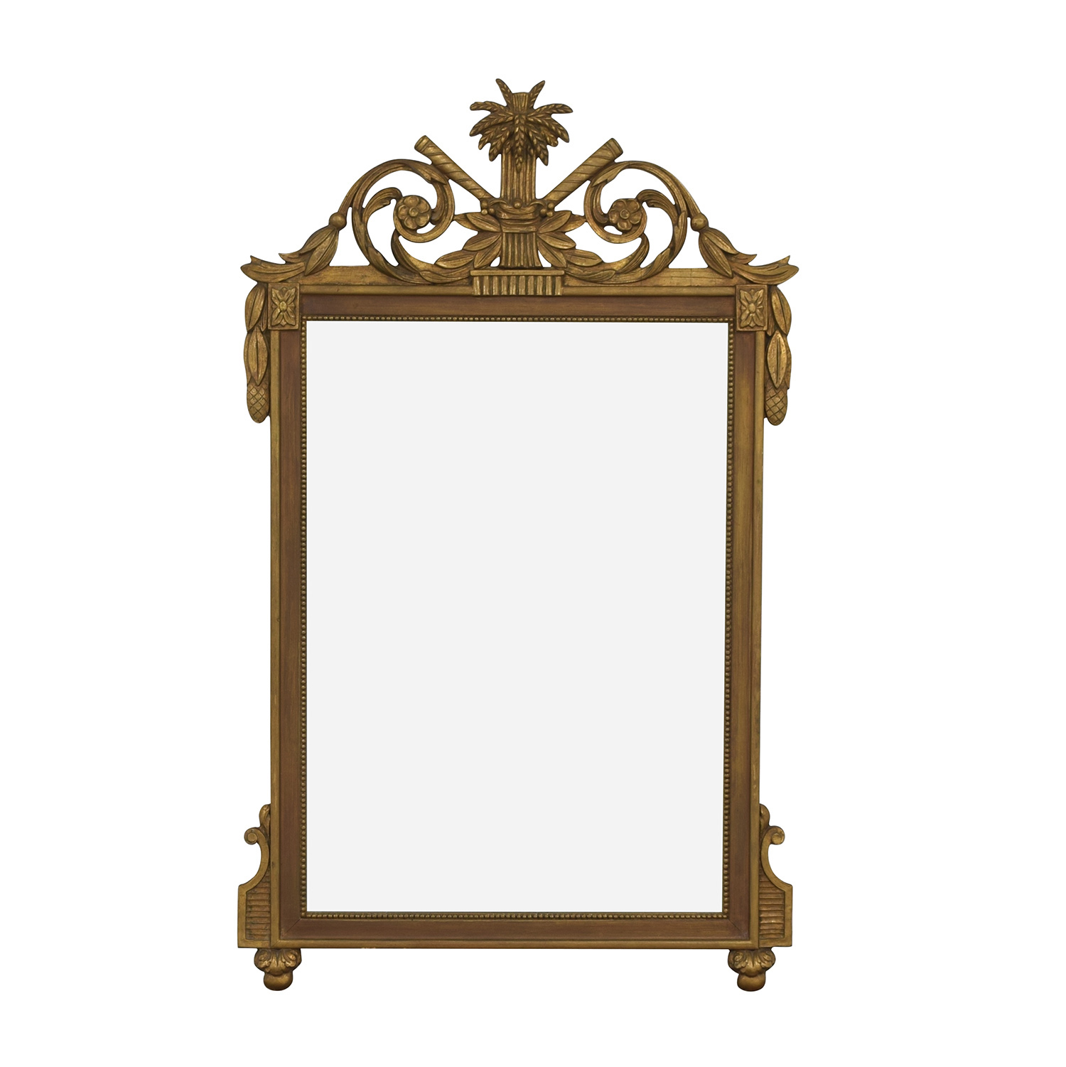 Vintage French Regency Giltwood Mirror discount