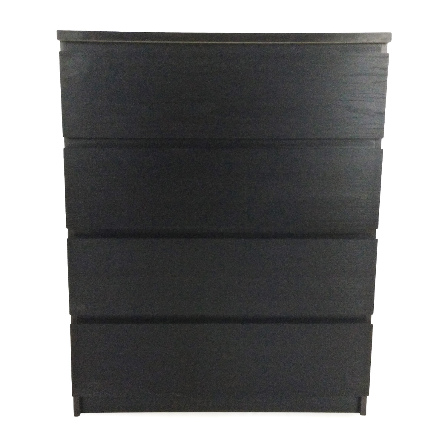 Ikea Malm Black 4 Drawer Dresser