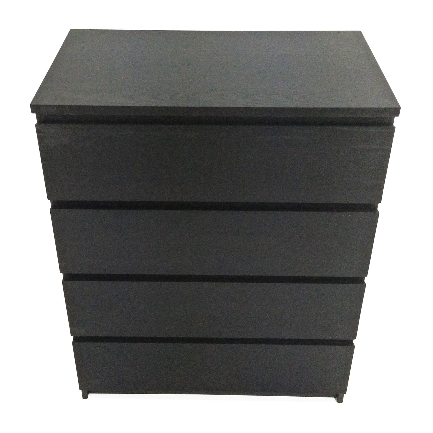 IKEA MALM Black 4-Drawer Dresser for sale