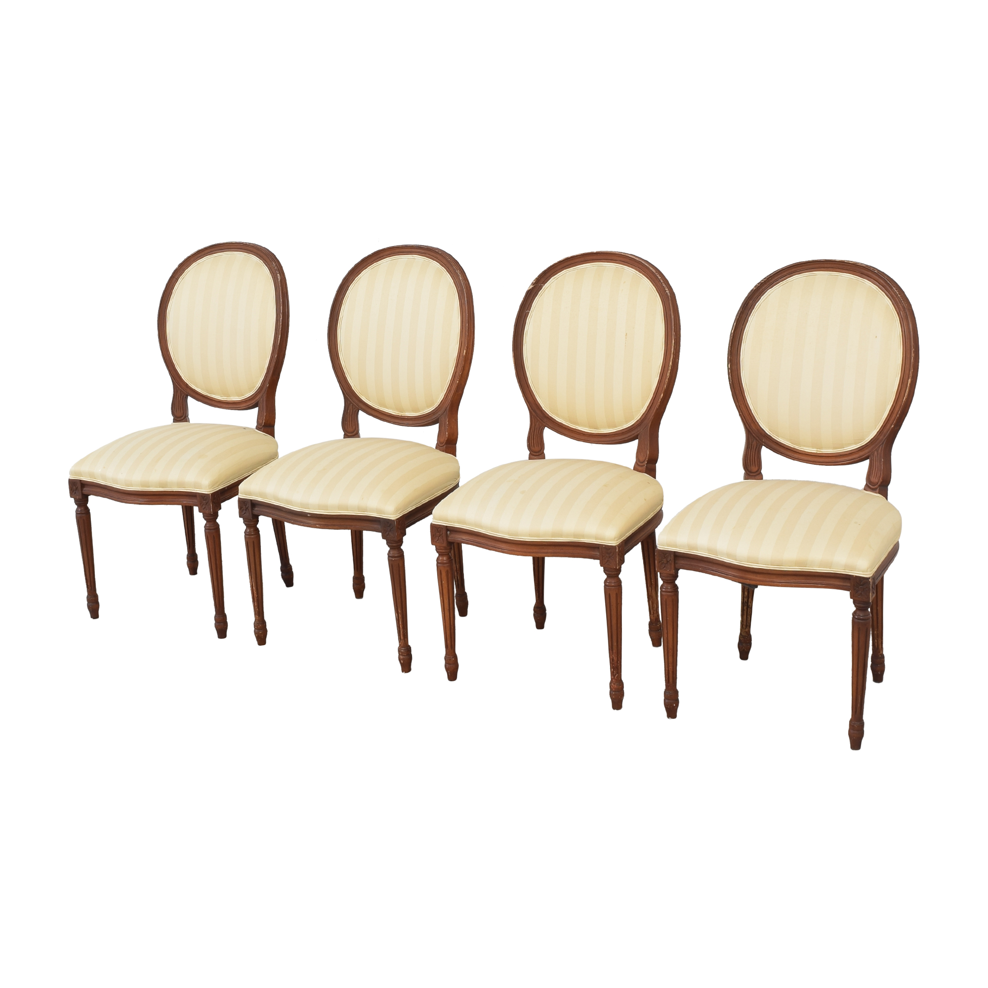 French Style Dining Chairs with Slip Covers Dining Chairs