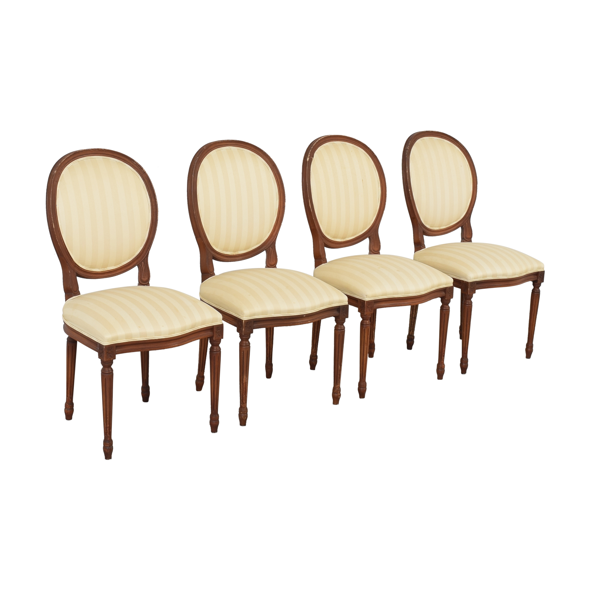 buy French Style Dining Chairs with Slip Covers  Dining Chairs