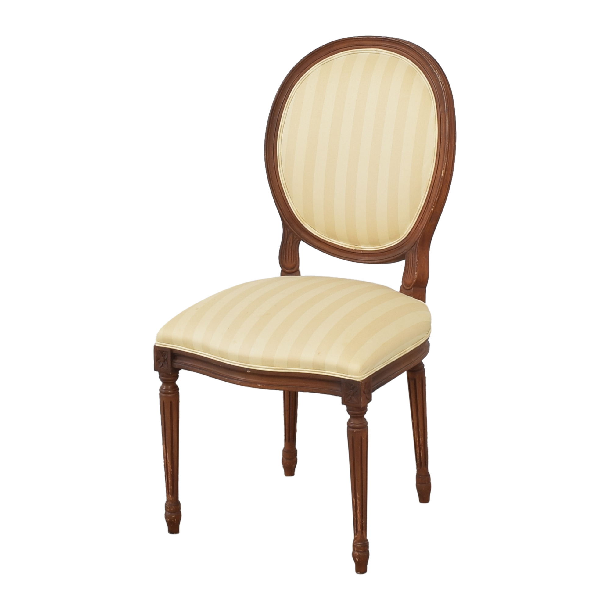 buy French Style Dining Chairs with Slip Covers  Chairs