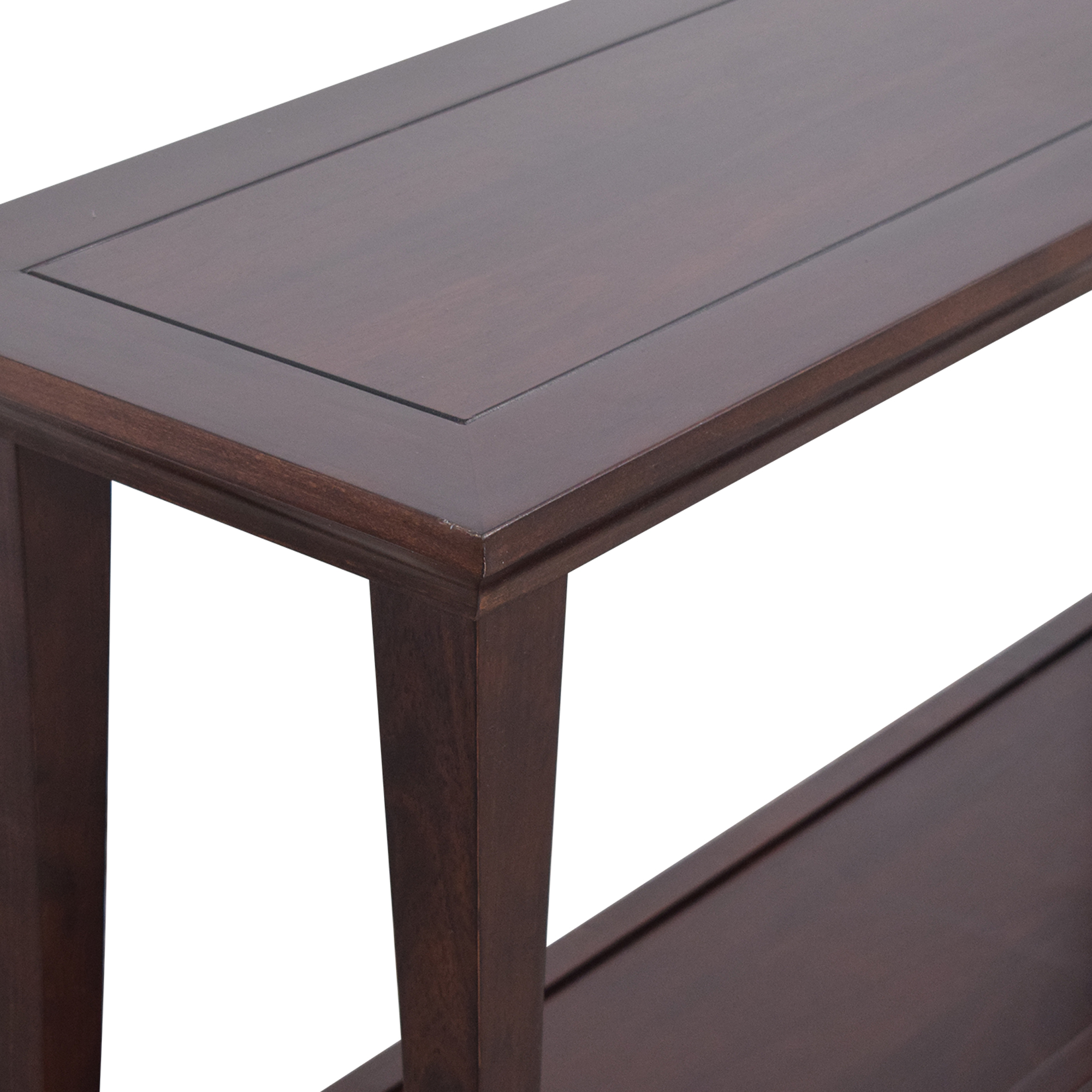 Pottery Barn Two Level Console Table sale