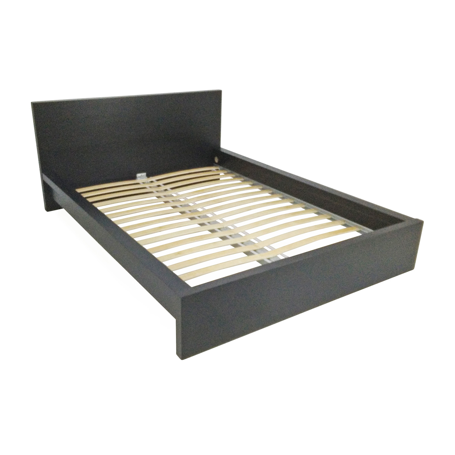 51 off ikea malm black bed frame beds for Ikea mattress frame